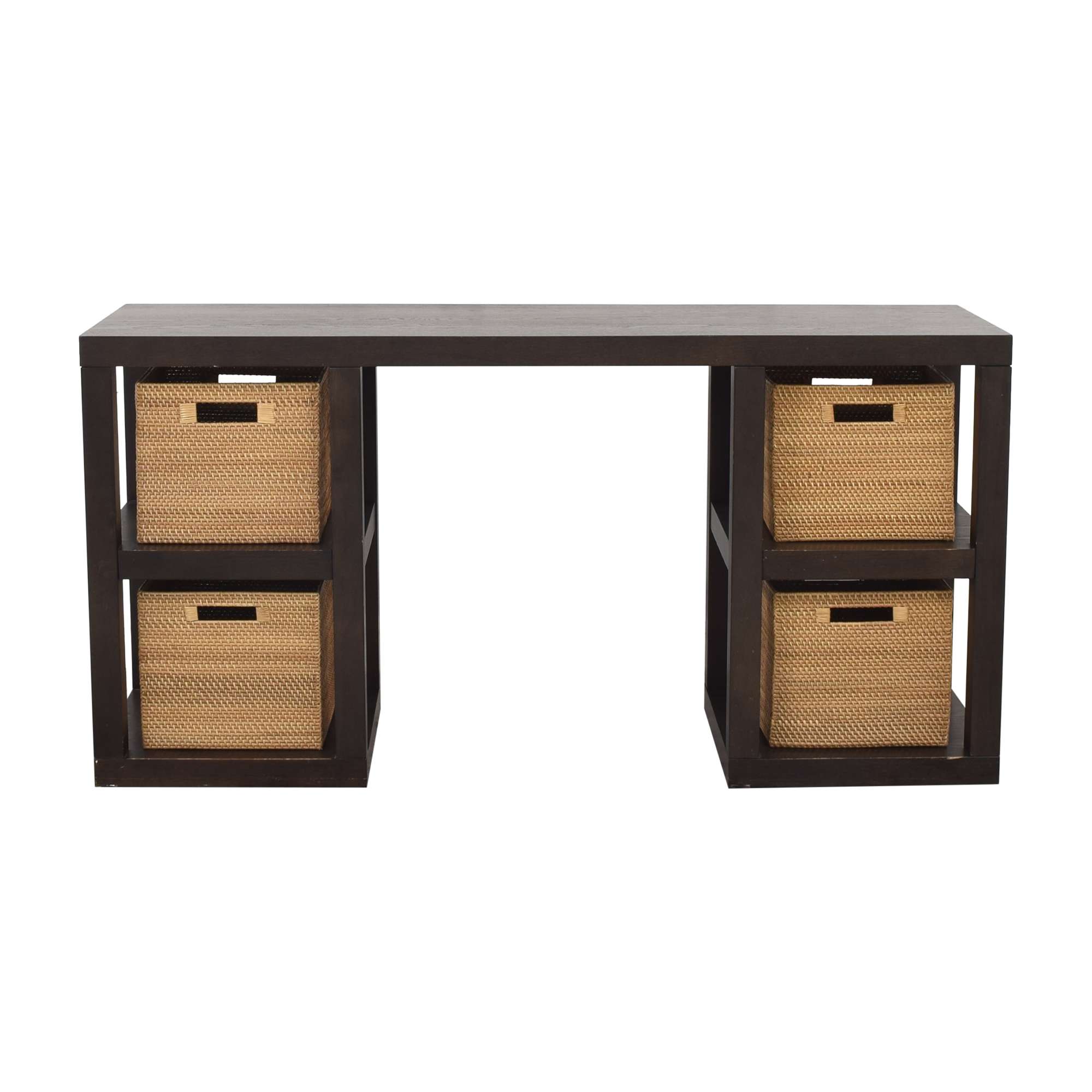 West Elm West Elm 2 x 2 Console Desk used