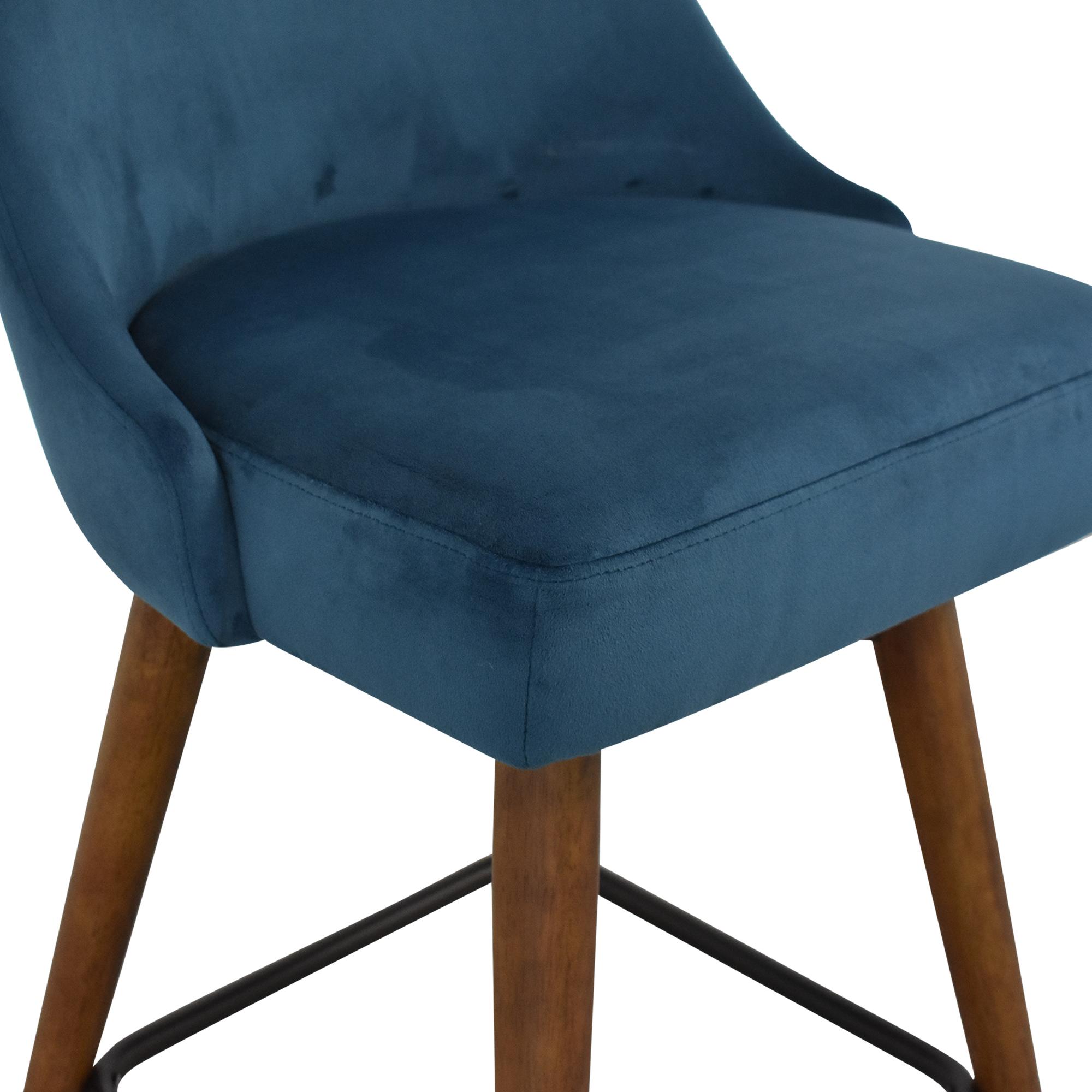 West Elm West Elm Mid-Century Upholstered Swivel Counter Stool price