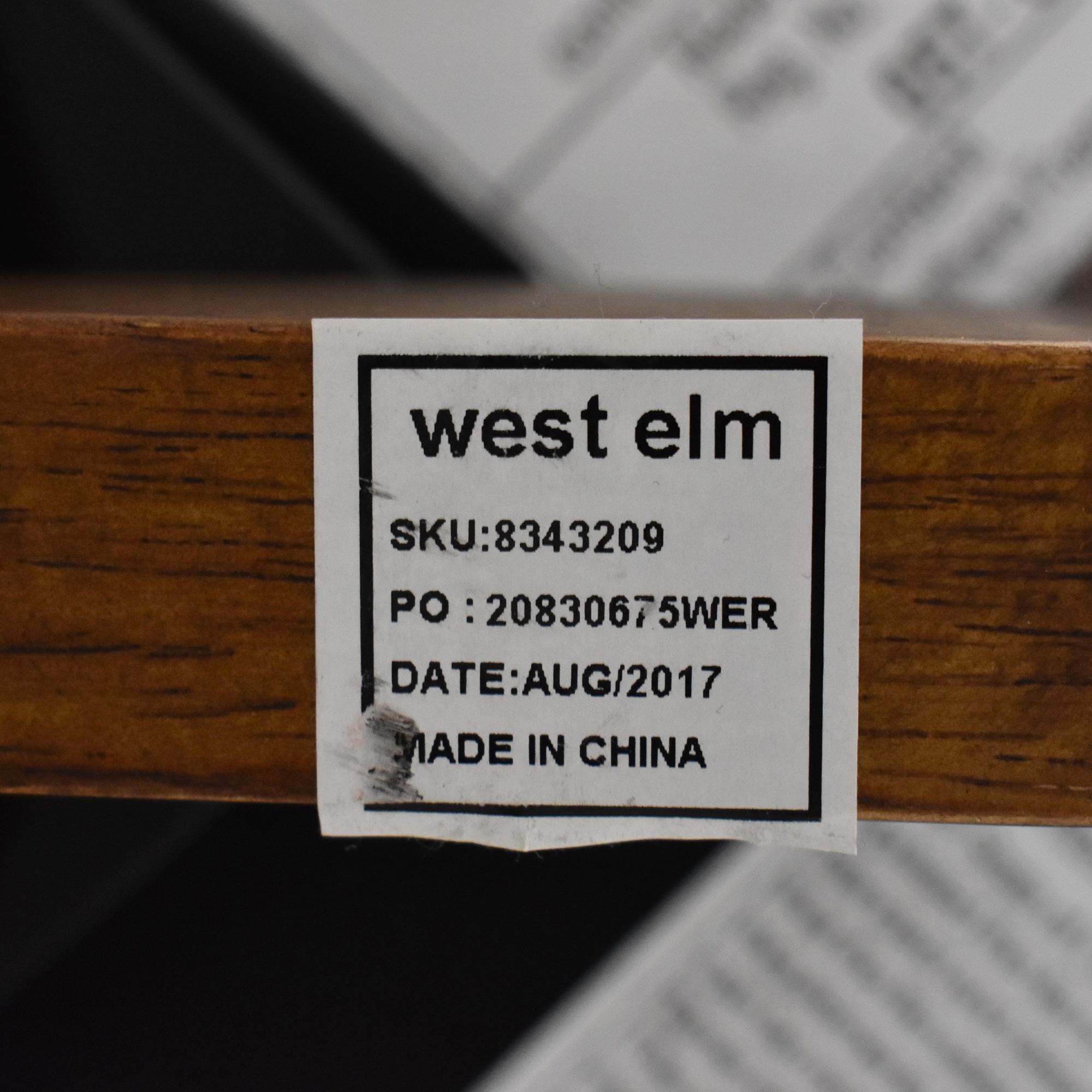 West Elm West Elm Mid-Century Upholstered Swivel Counter Stool ct