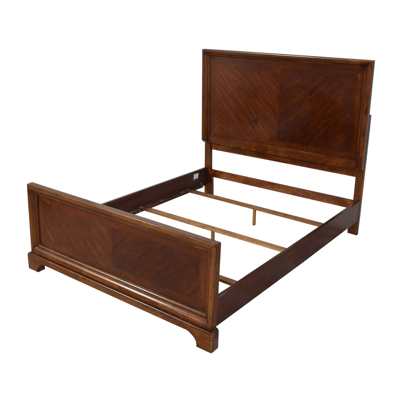 buy Bassett Traditional Style Queen Bed Bassett Furniture Bed Frames