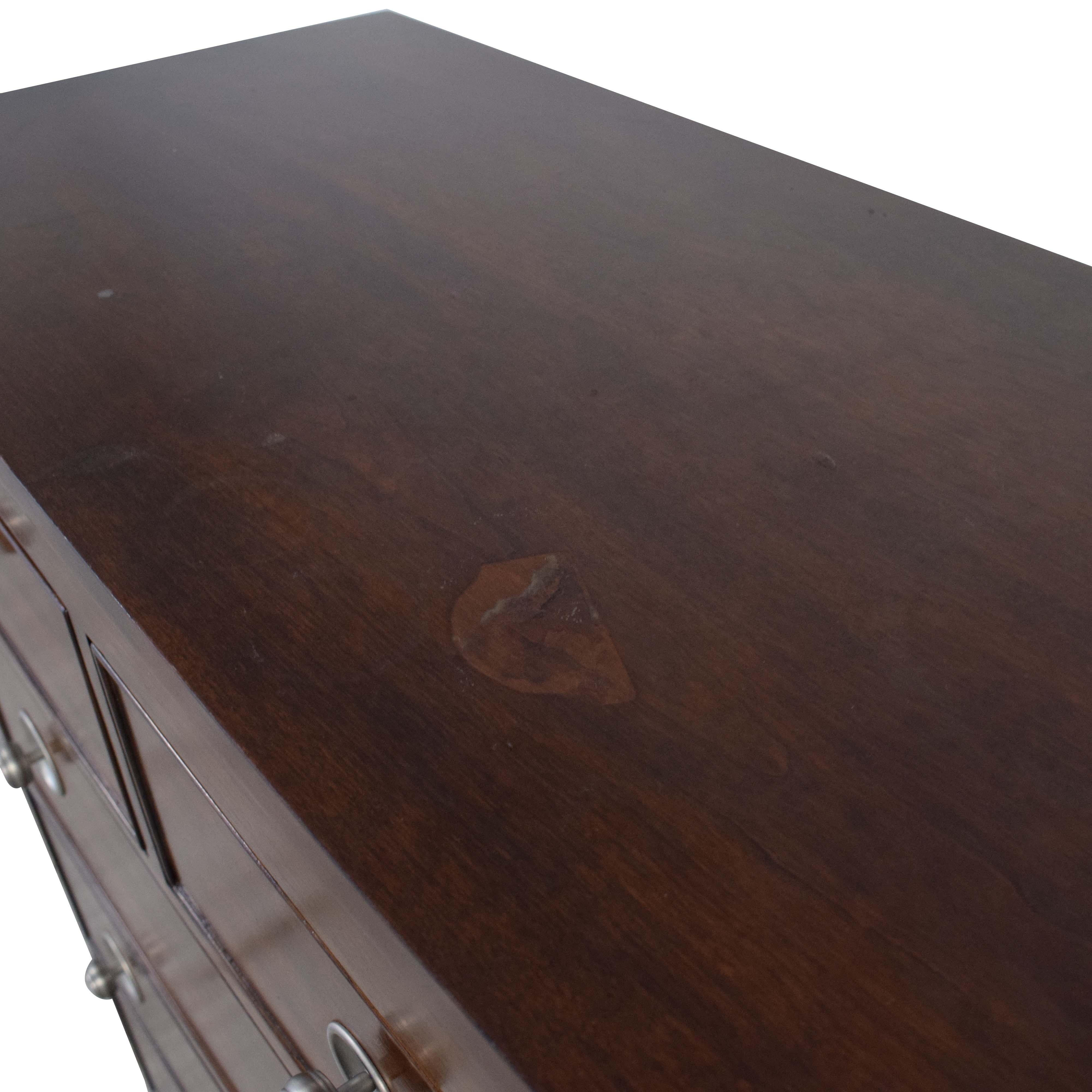 buy Bassett Six Drawer Chest with Hidden Vanity Bassett Furniture