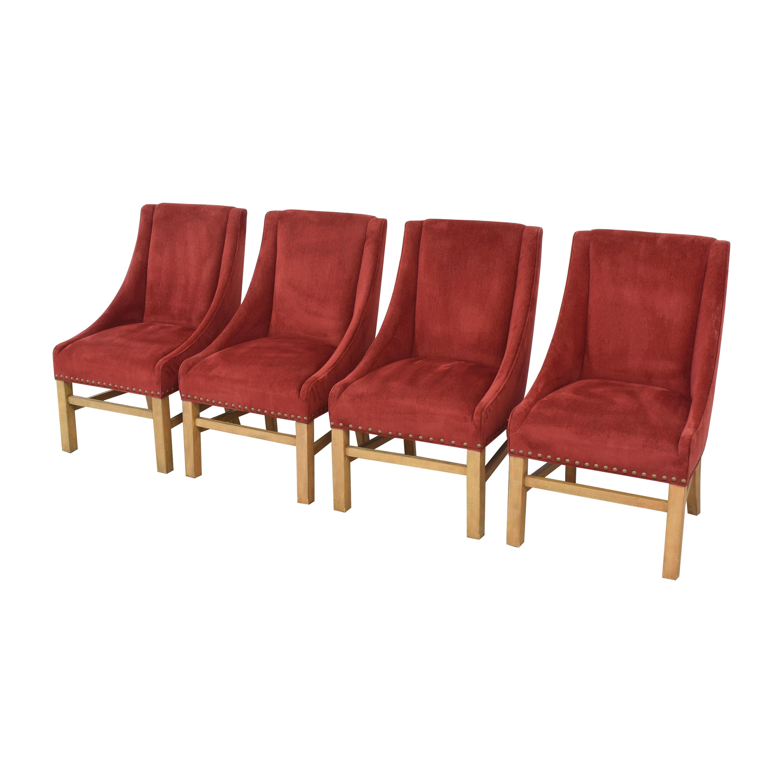Bernhardt Upholstered Dining Chairs Bernhardt