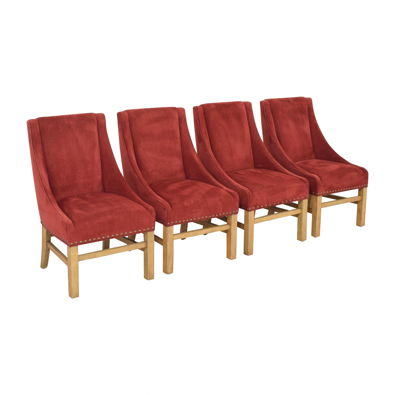 Bernhardt Bernhardt Upholstered Dining Chairs dimensions