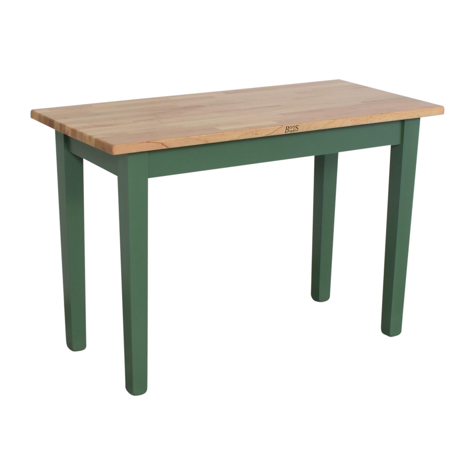 buy John Boos Classic Work Country Butcher Block Table John Boos Tables