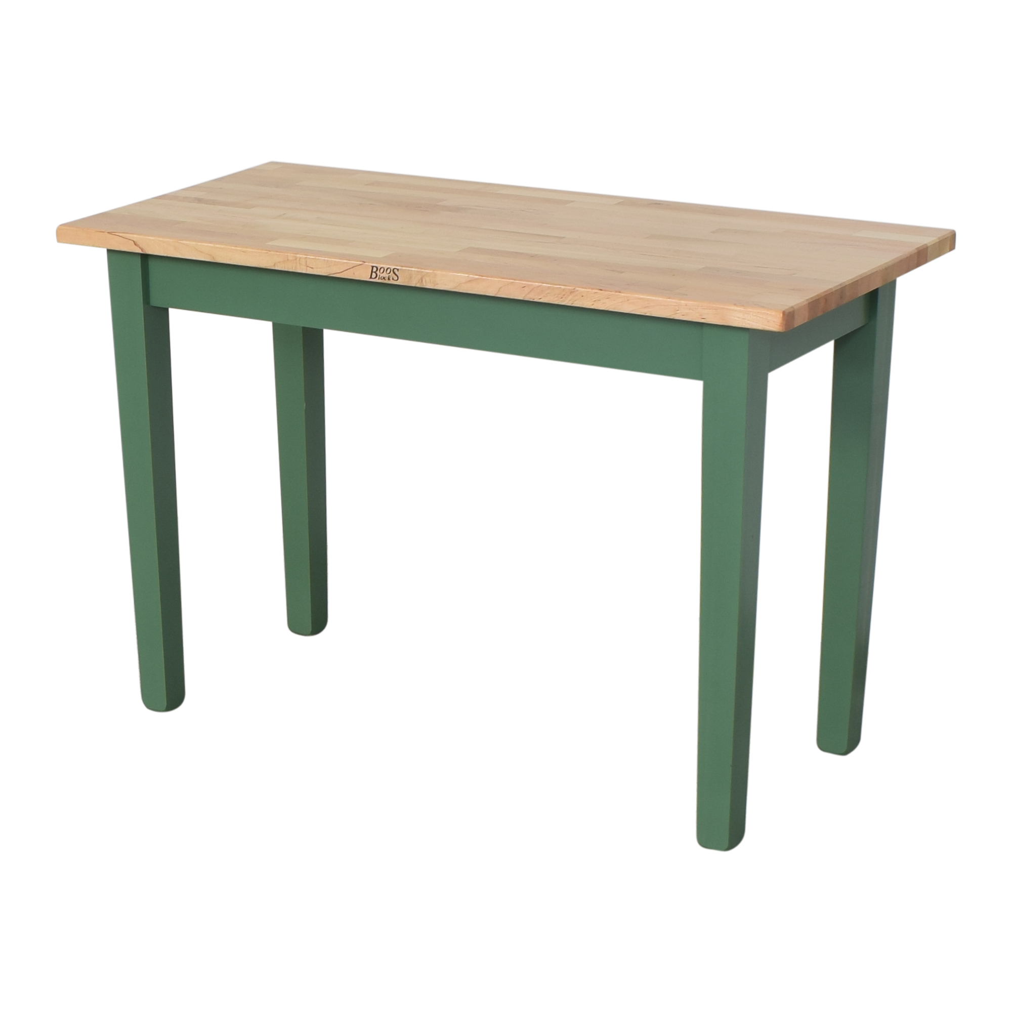 John Boos Classic Work Country Butcher Block Table / Dinner Tables