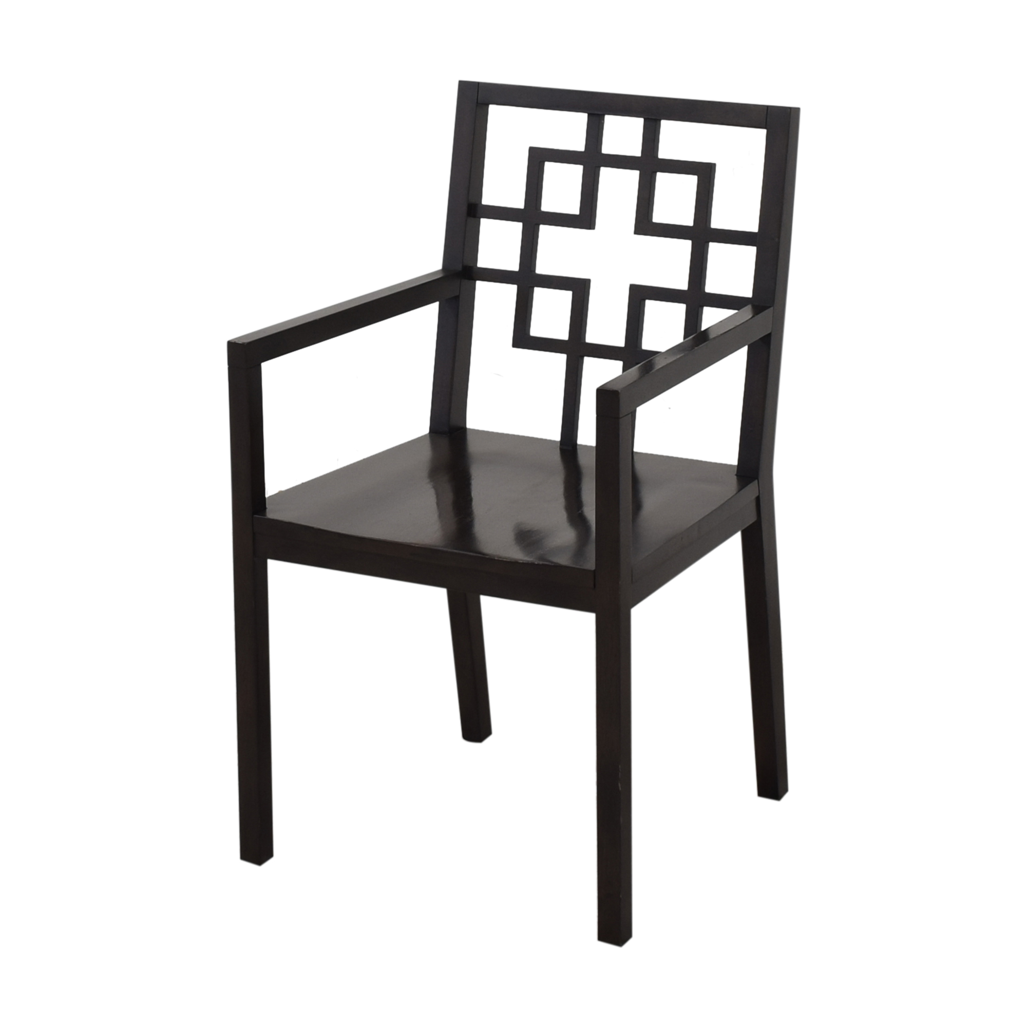 West Elm Overlapping Squares Dining Chairs / Chairs