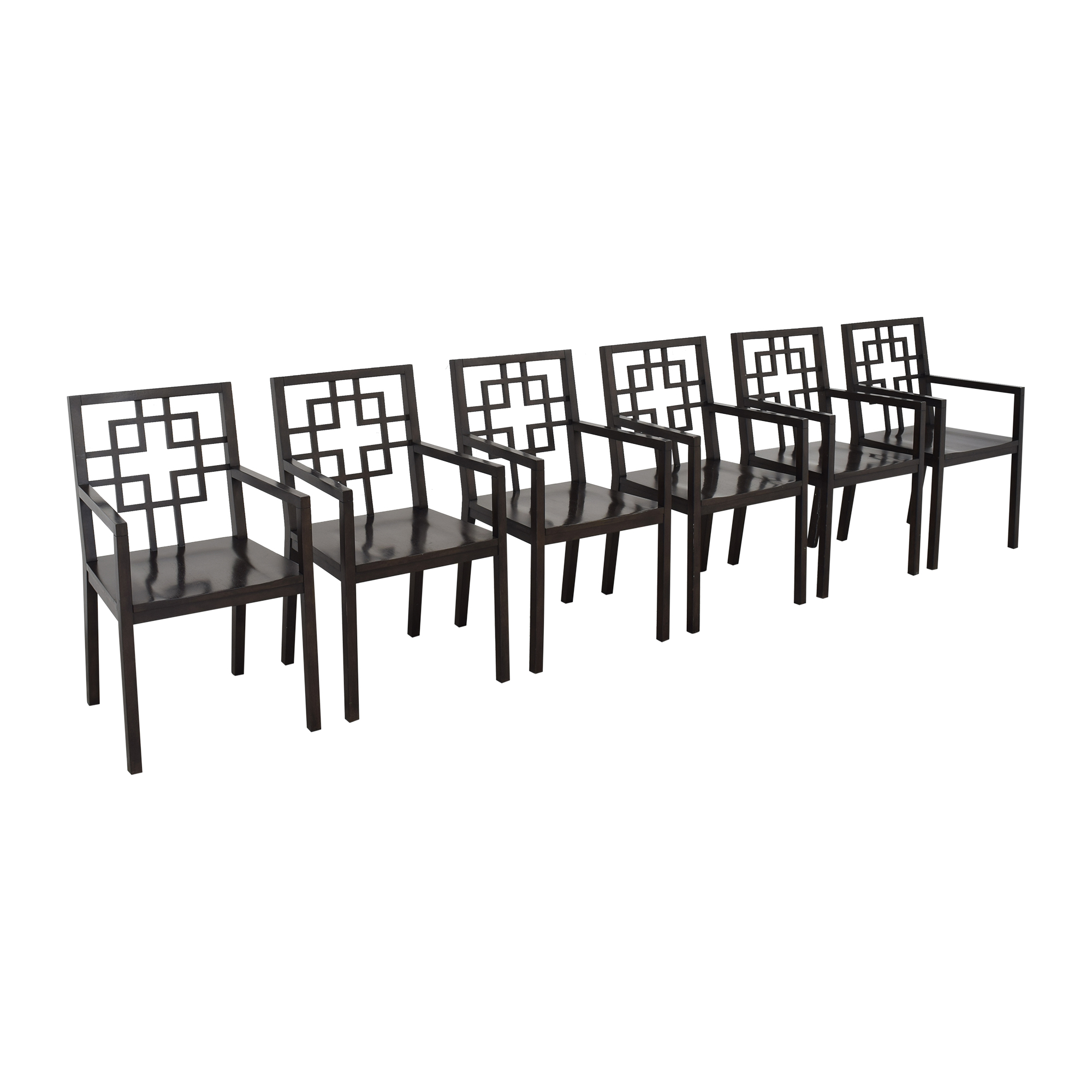 West Elm West Elm Overlapping Squares Dining Chairs Chairs