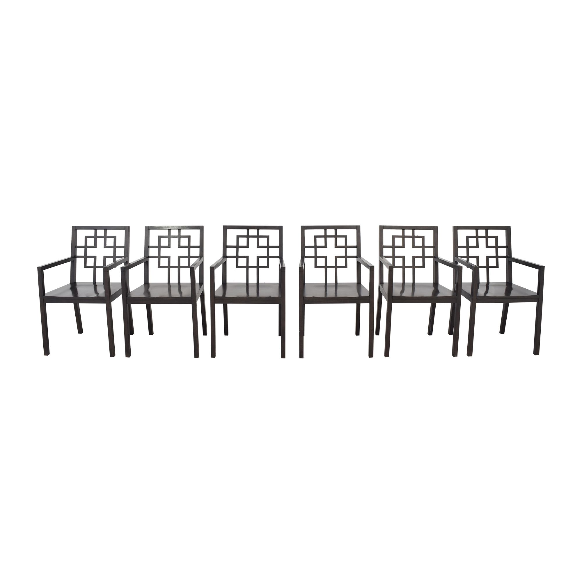 West Elm West Elm Overlapping Squares Dining Chairs Dining Chairs