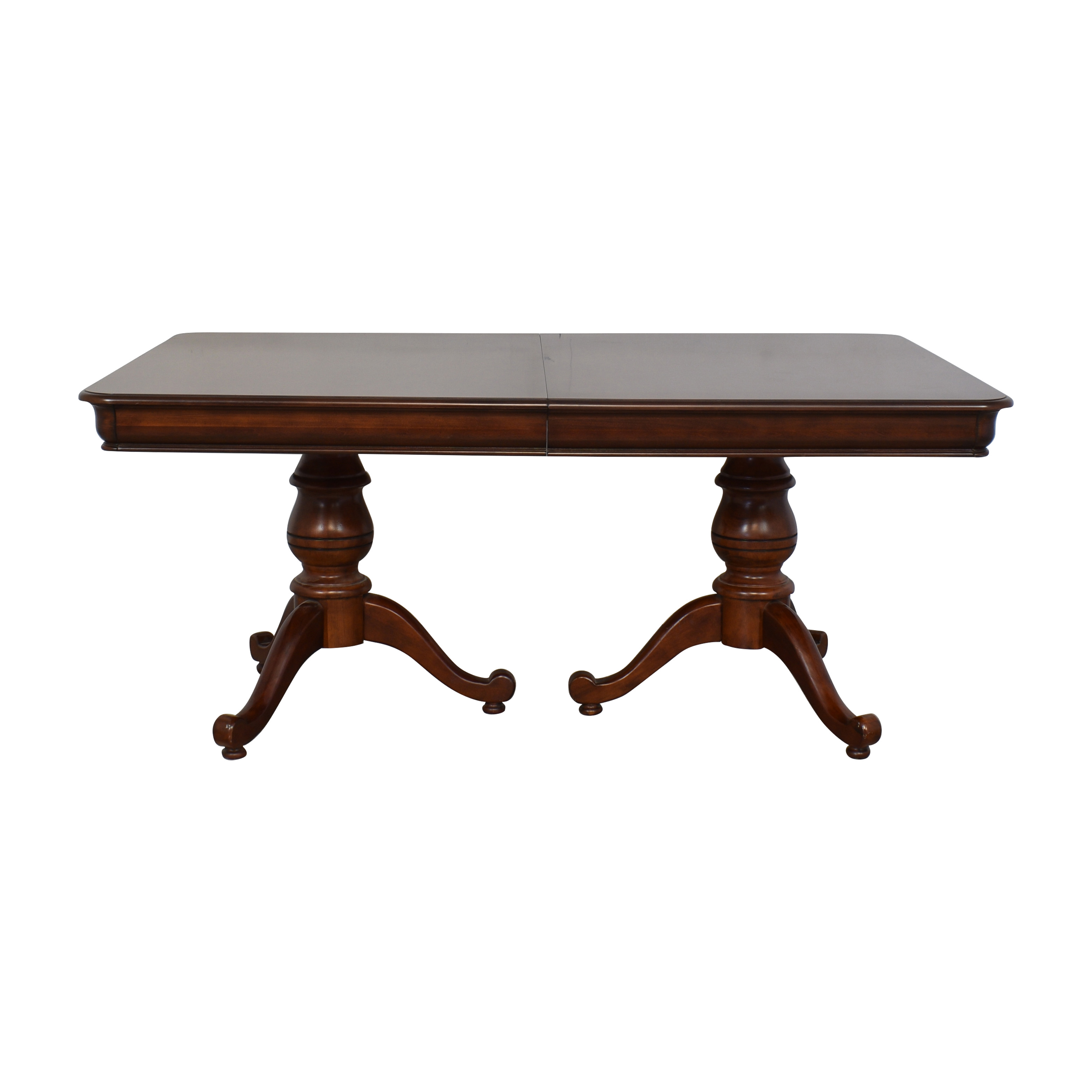 buy Macy's Macy's Double Pedestal Extendable Dining Table online