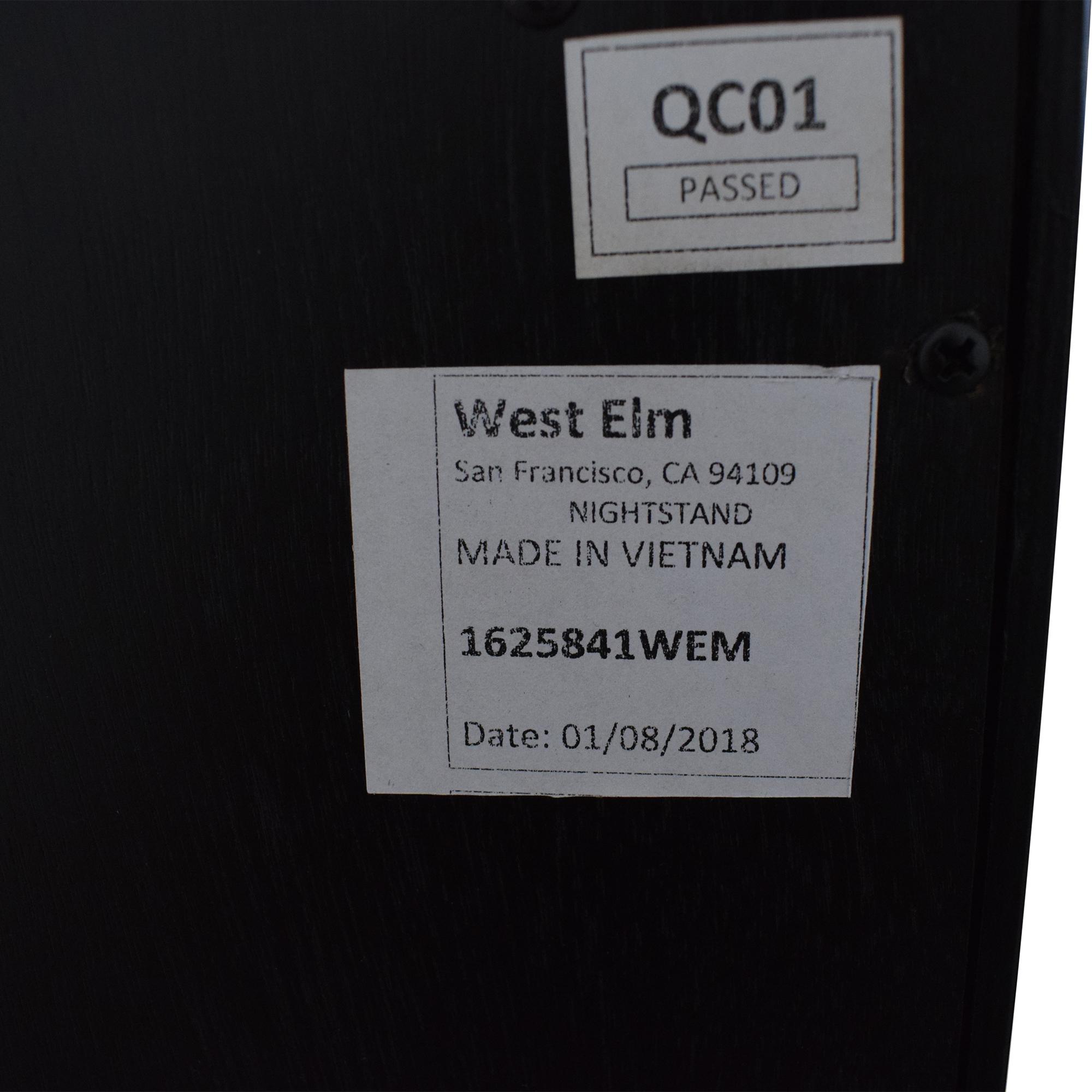 West Elm West Elm Alexa Nightstands second hand