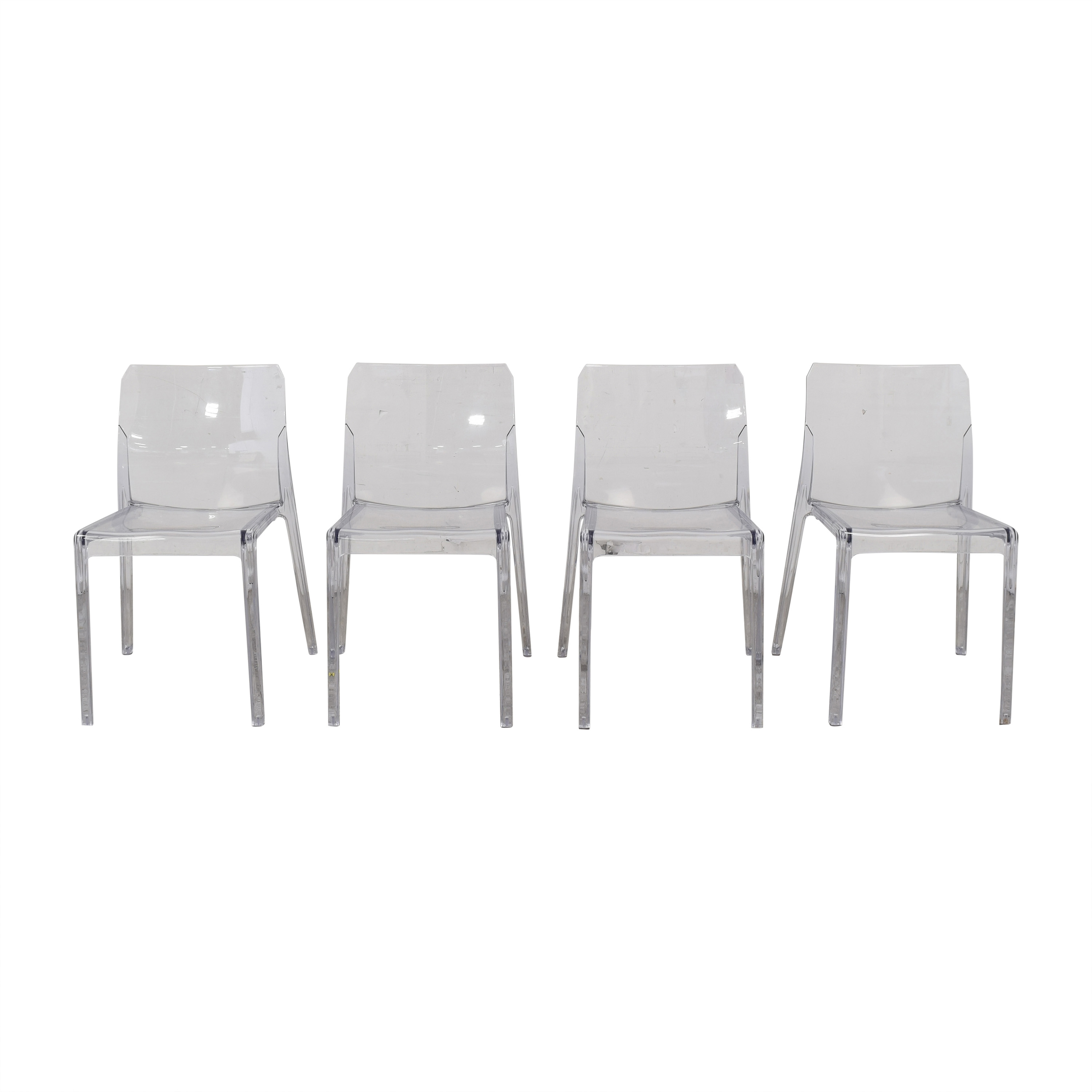 CB2 CB2 Bolla Clear Dining Chairs coupon