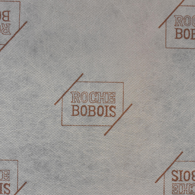 Roche Bobois Roche Bobois Chaise Sectional Sofa with Ottomans off white