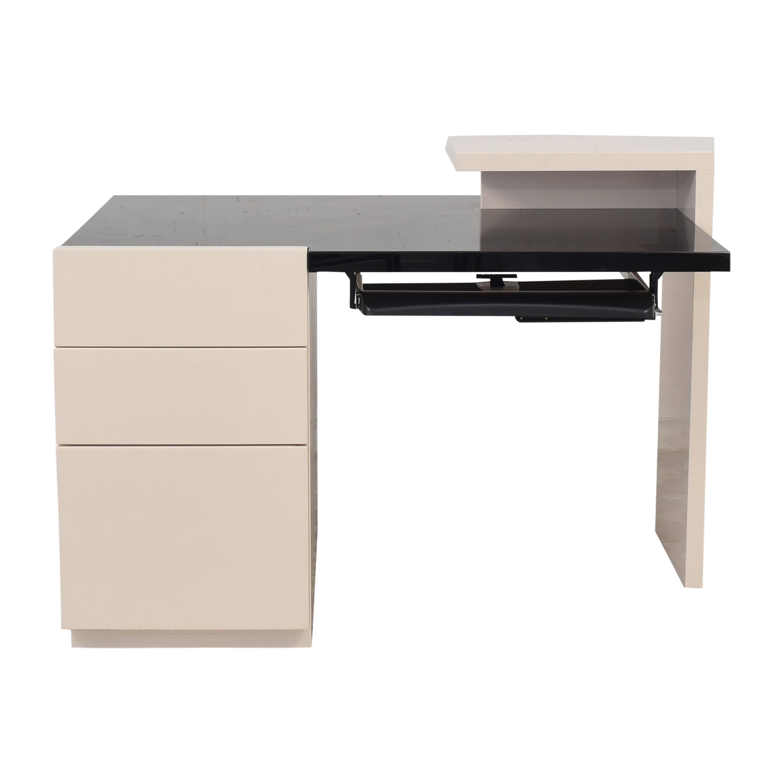 buy Maurice Villency Followes Contemporary Desk Maurice Villency Tables
