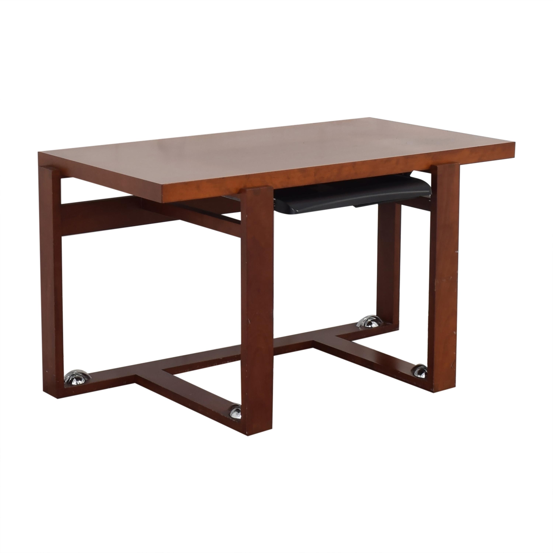 shop Maurice Villency Mid-Century Style Desk Maurice Villency Home Office Desks