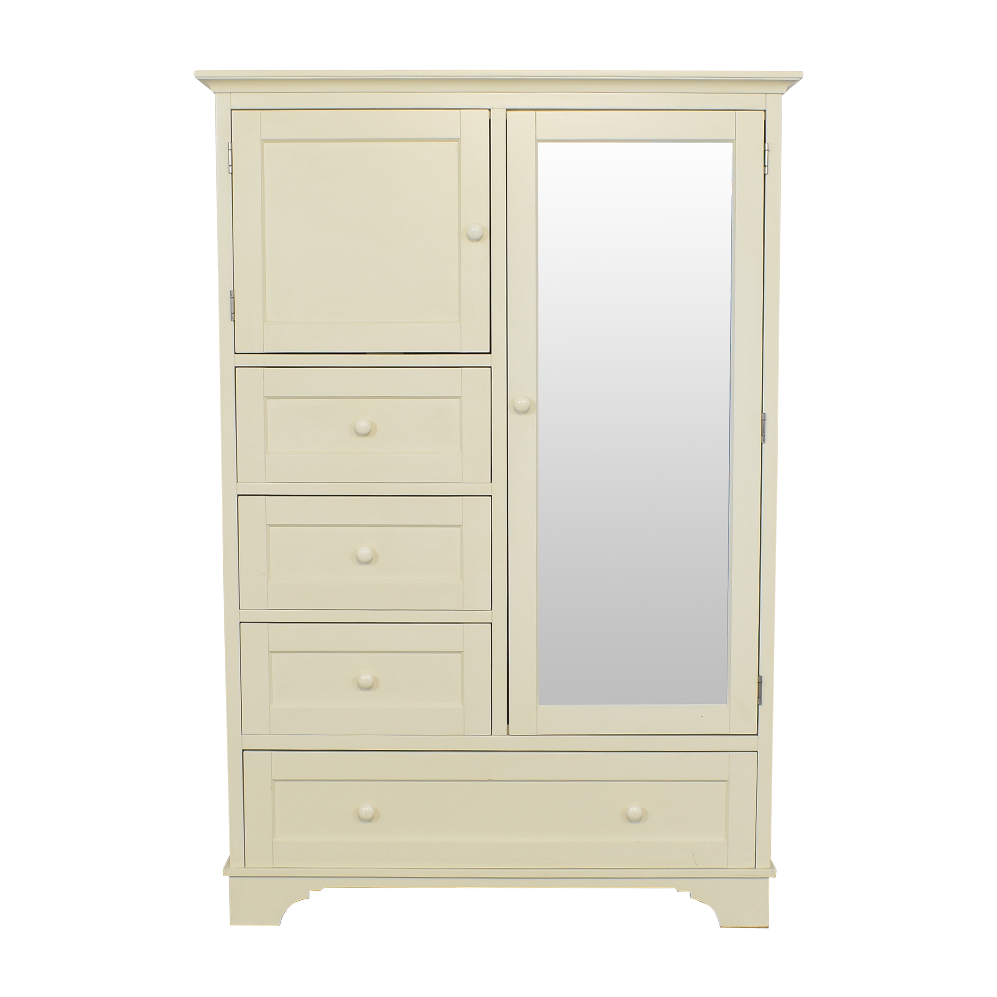 Pottery Barn Farmhouse Style Wardrobe / Wardrobes & Armoires