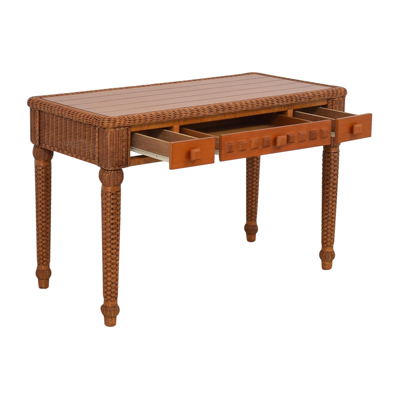 Rattan Wicker Desk used