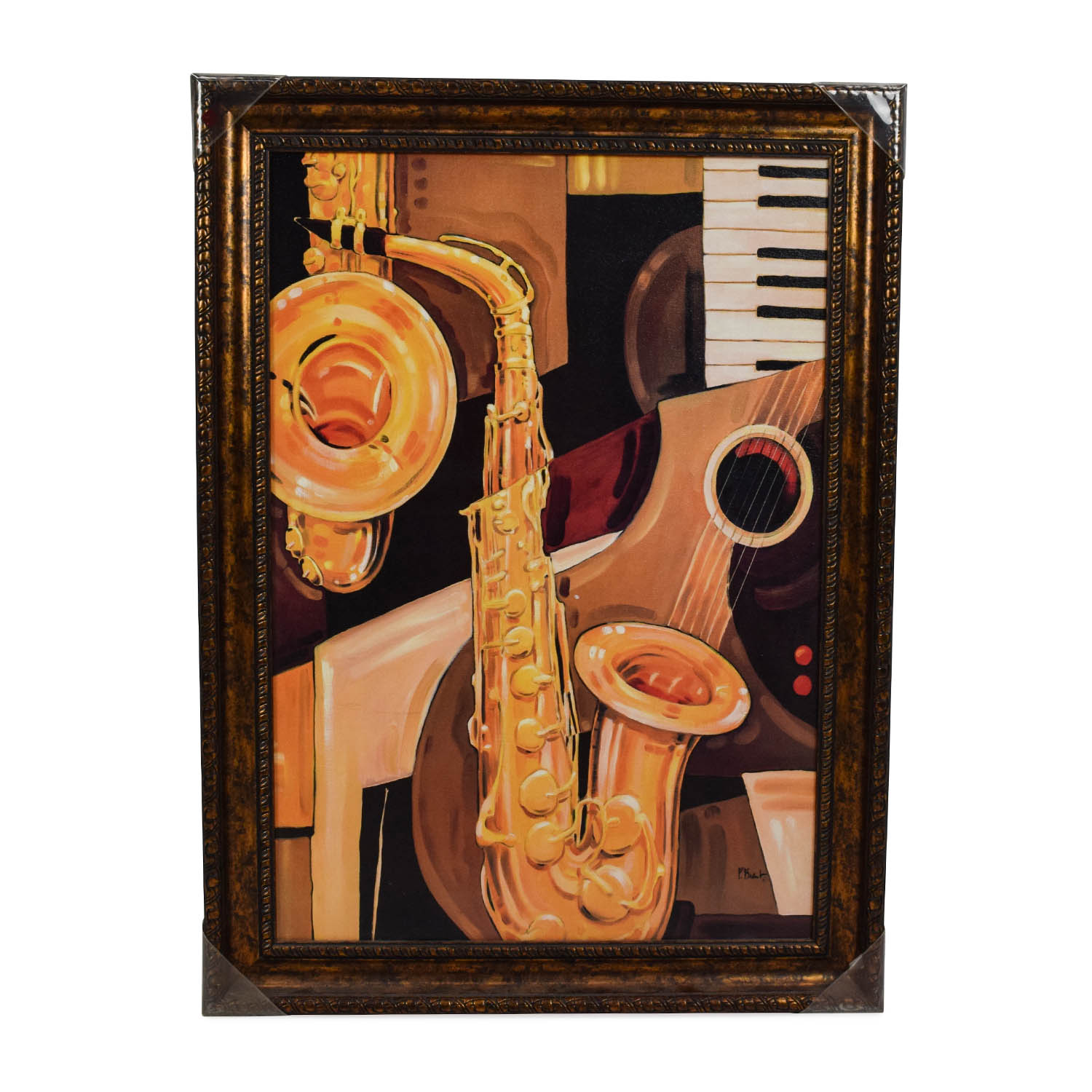 buy Musical Instruments Painting Wall Art