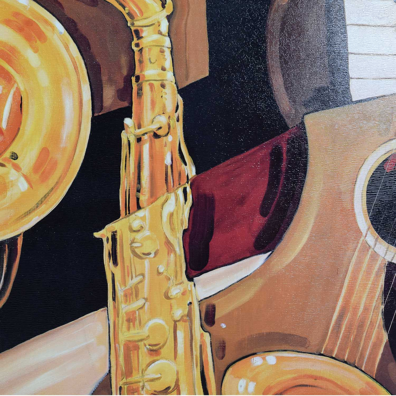 shop Musical Instruments Painting Decor