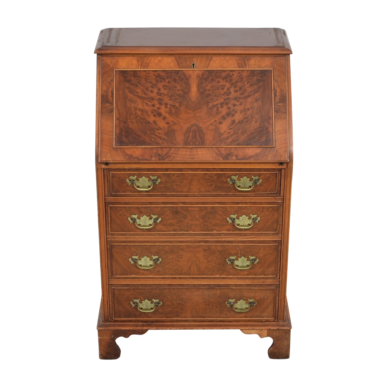 buy Colonial Desk Company Secretary Desk  Cabinets & Sideboards