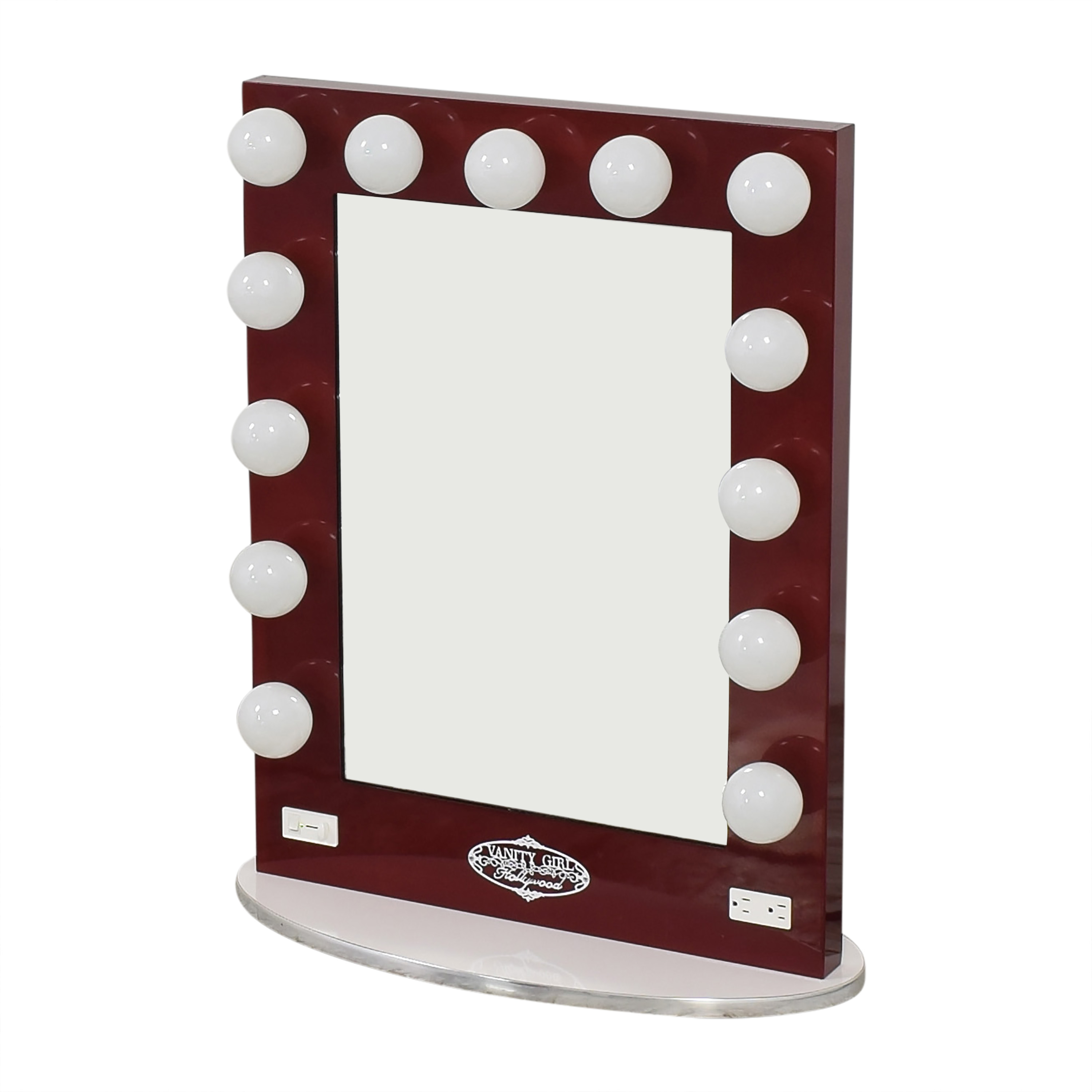 shop Vanity Girl Hollywood Broadway Lighted Mirror Vanity Girl Hollywood Decor