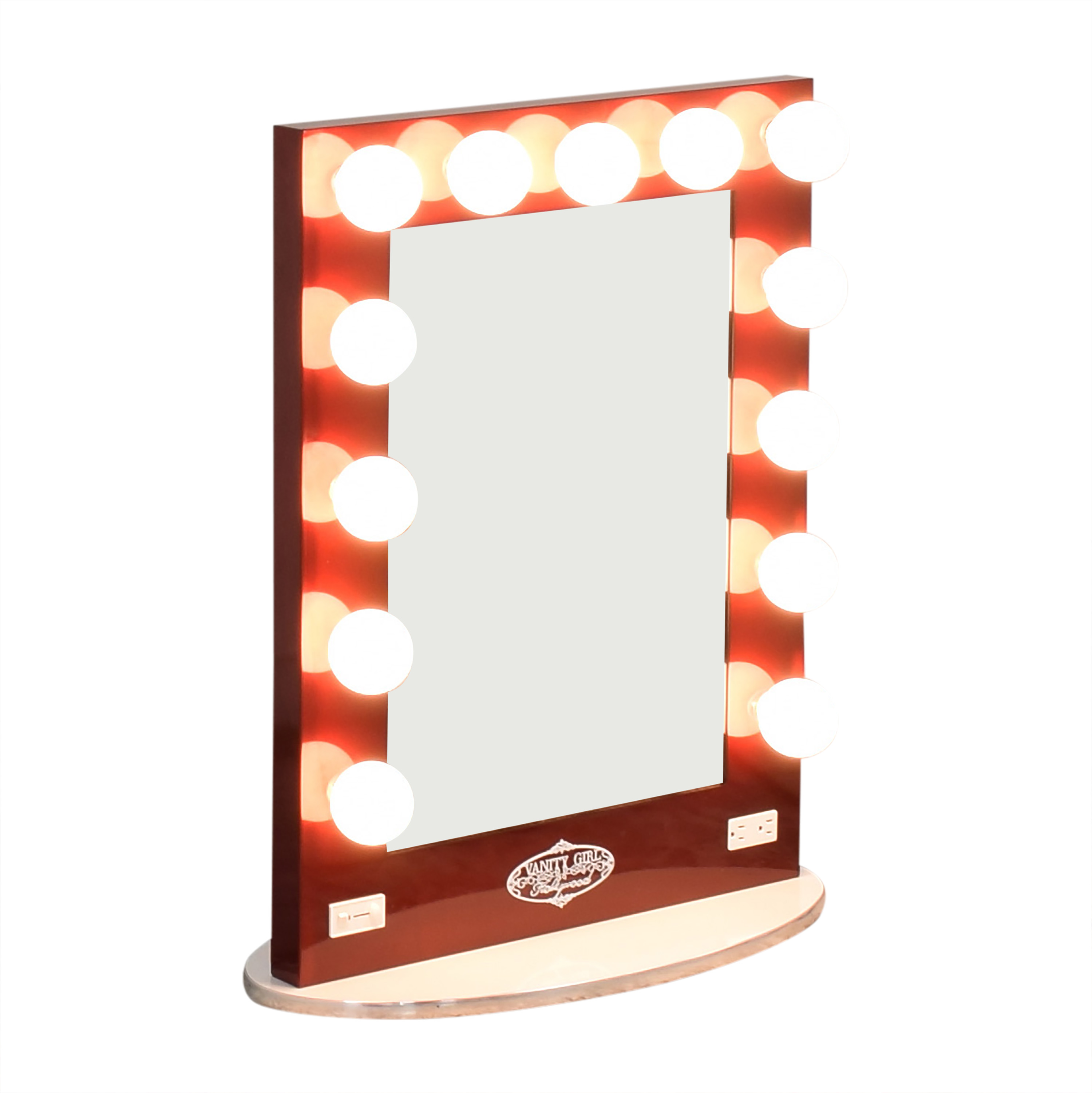 Vanity Girl Hollywood Vanity Girl Hollywood Broadway Lighted Mirror nj