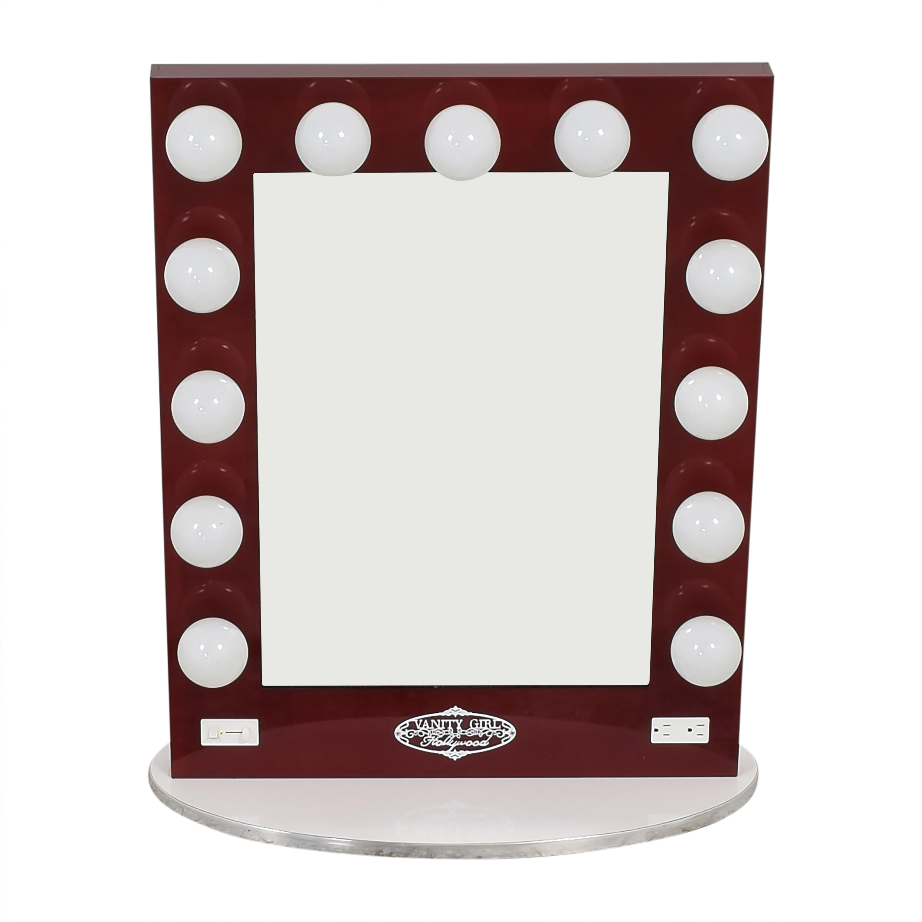 Vanity Girl Hollywood Vanity Girl Hollywood Broadway Lighted Mirror