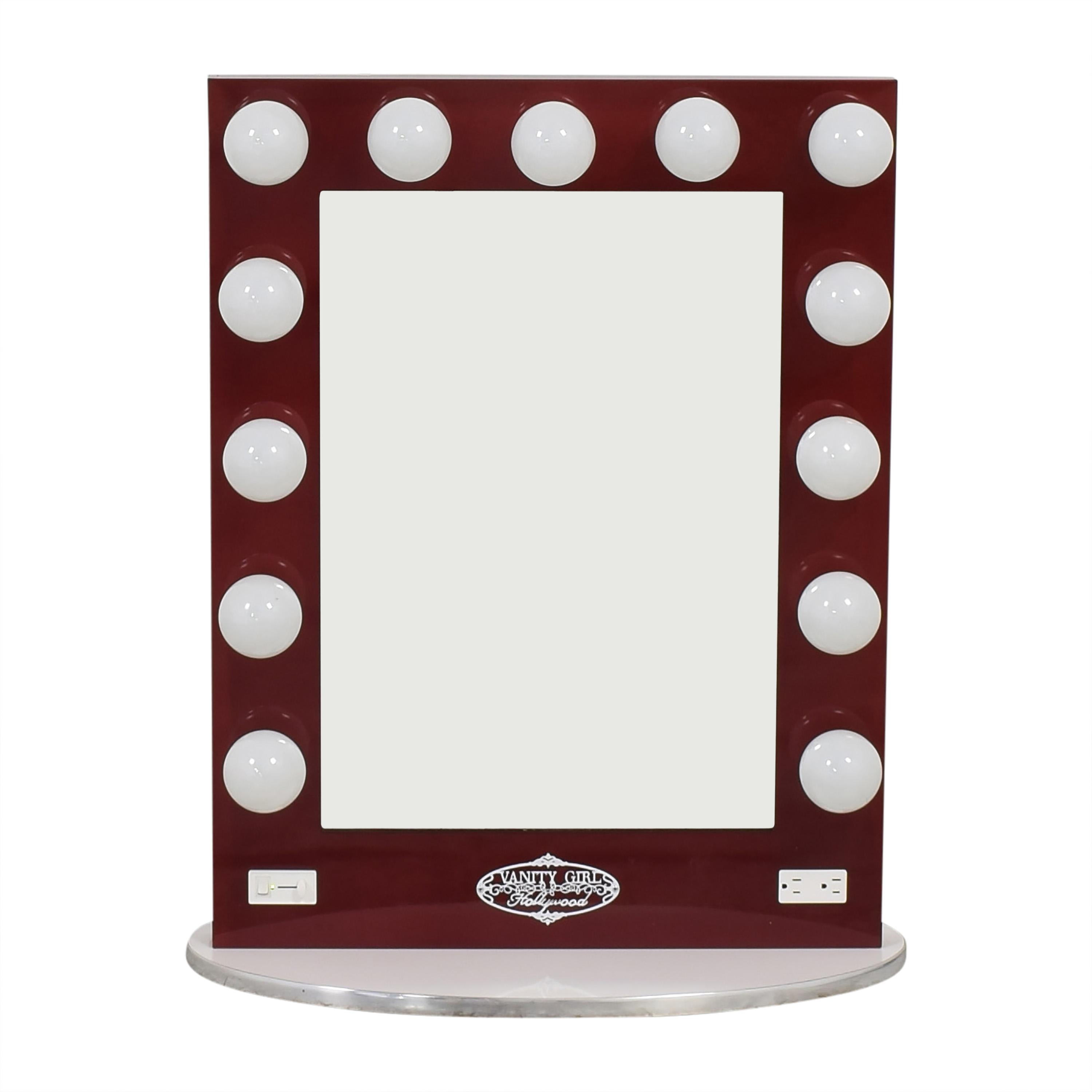 Vanity Girl Hollywood Broadway Lighted Mirror / Decor