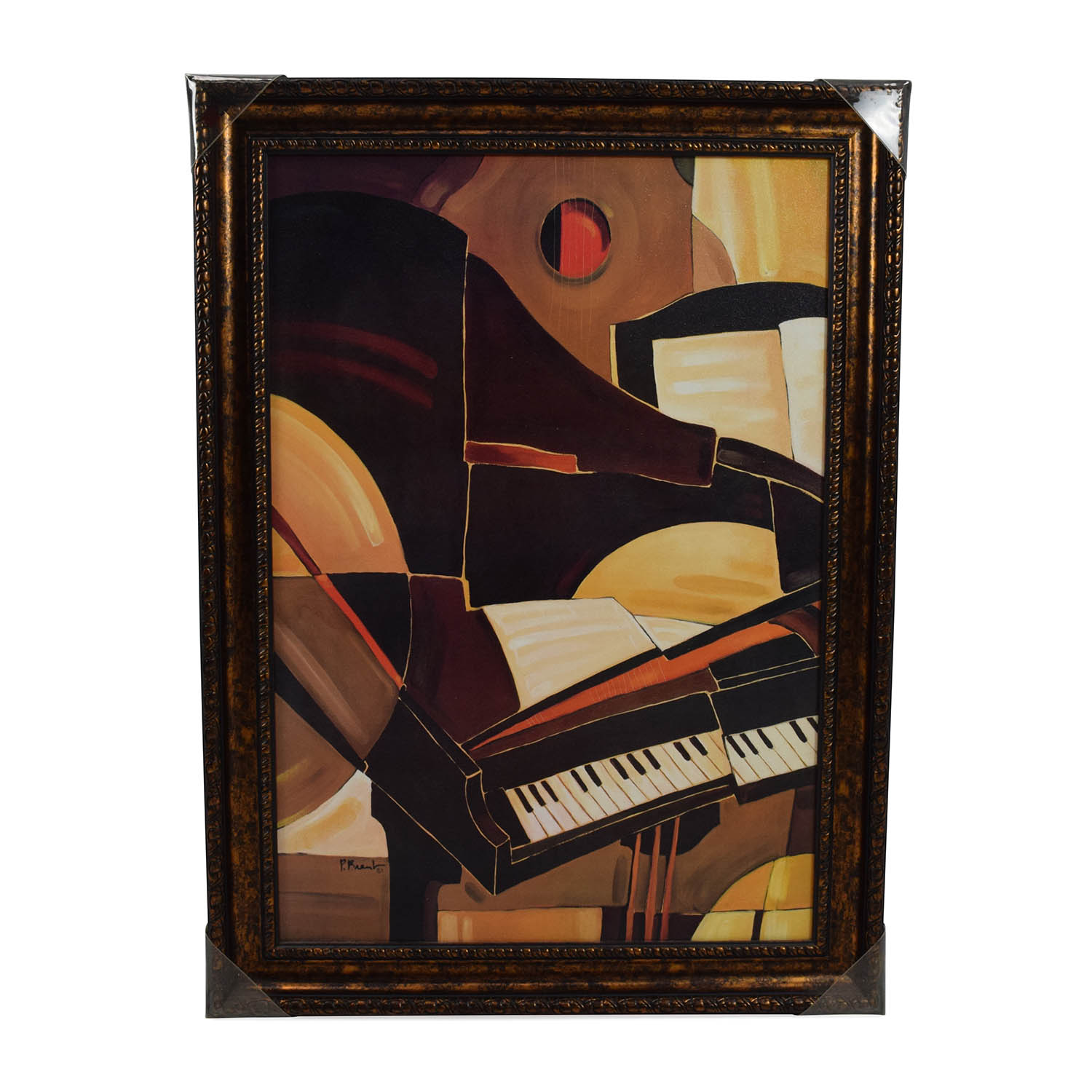 Piano Musical Painting on sale