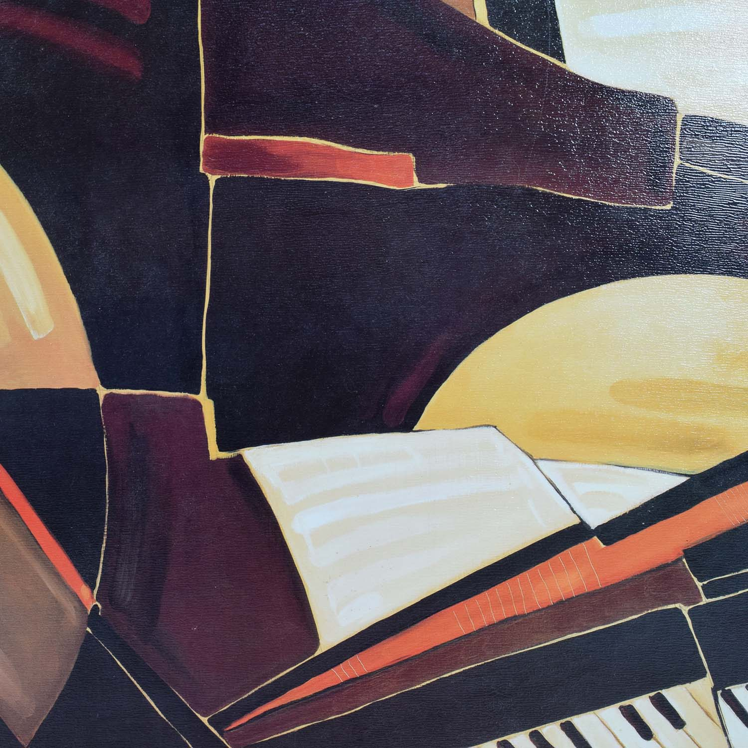 Piano Musical Painting second hand