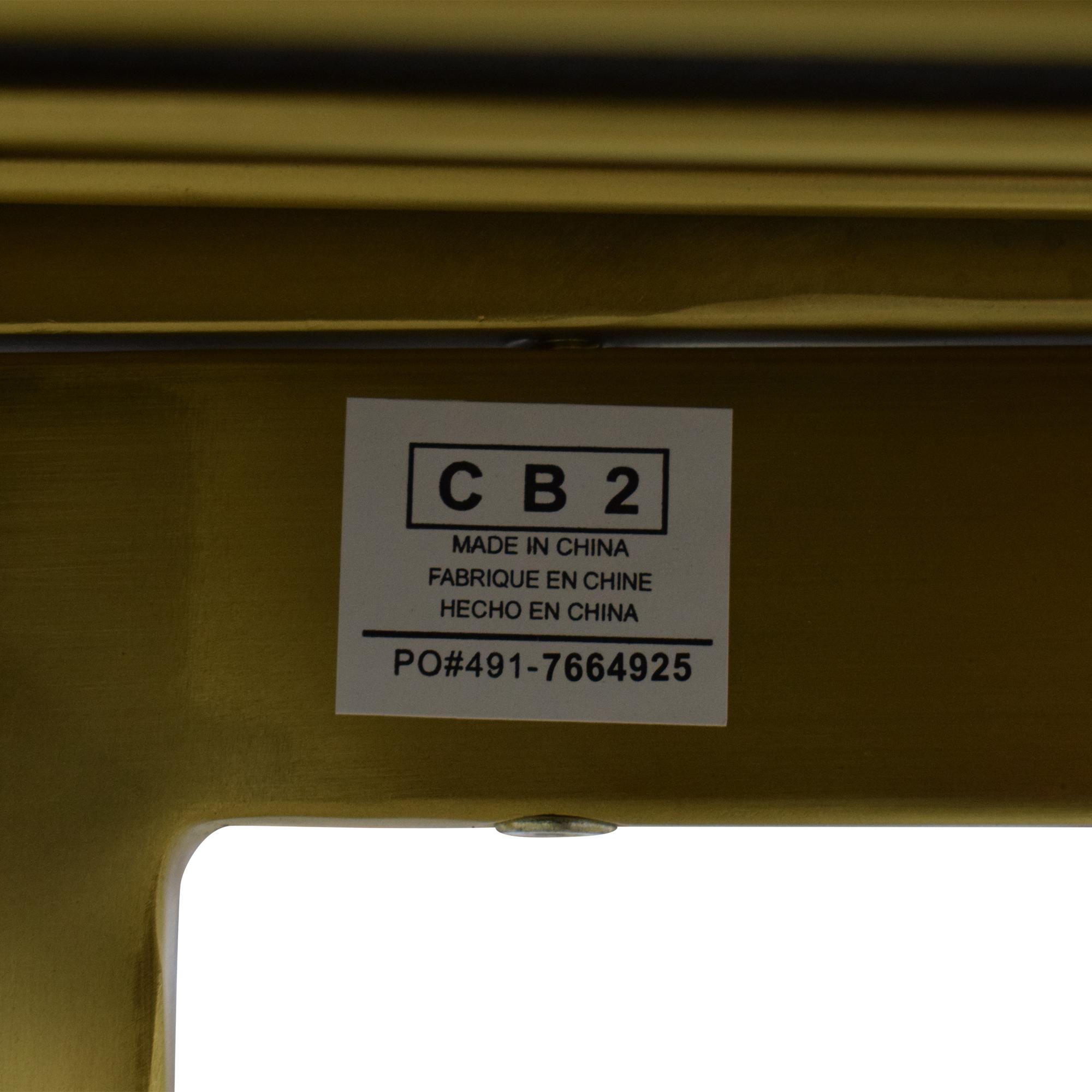 buy CB2 CB2 Rake Brass Bar Stools online