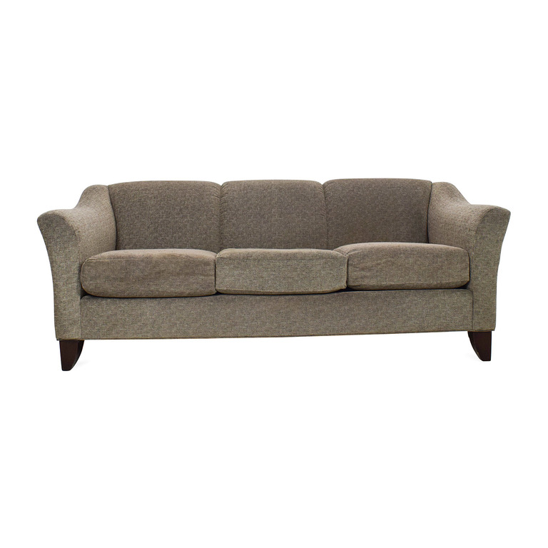 Raymour and Flanigan Raymour & Flanigan Meyer Chenille Sofa nj