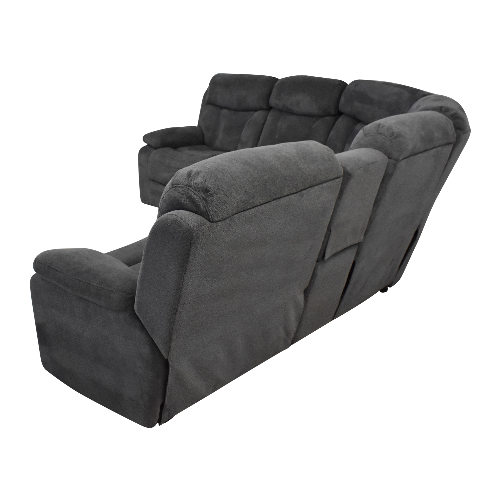 Raymour & Flanigan Raymour & Flanigan Connell Reclining Sectional Sofa coupon