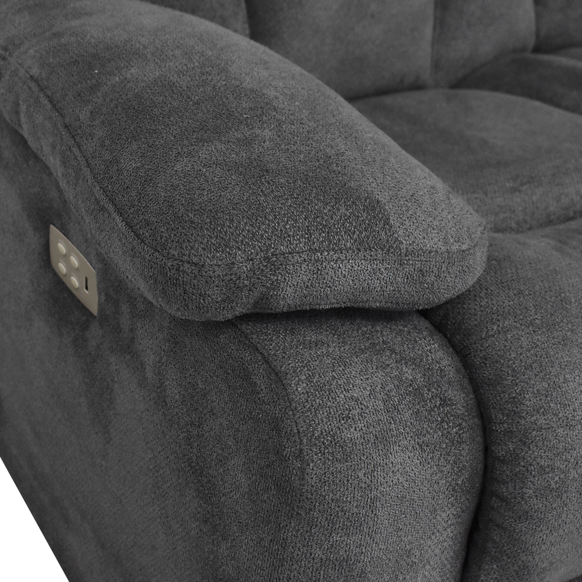 shop Raymour & Flanigan Connell Reclining Sectional Sofa Raymour & Flanigan Sectionals