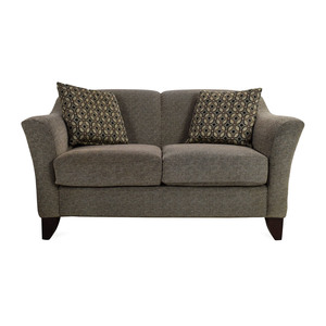 shop Raymour & Flanigan Meyer Chenille Loveseat Raymour and Flanigan