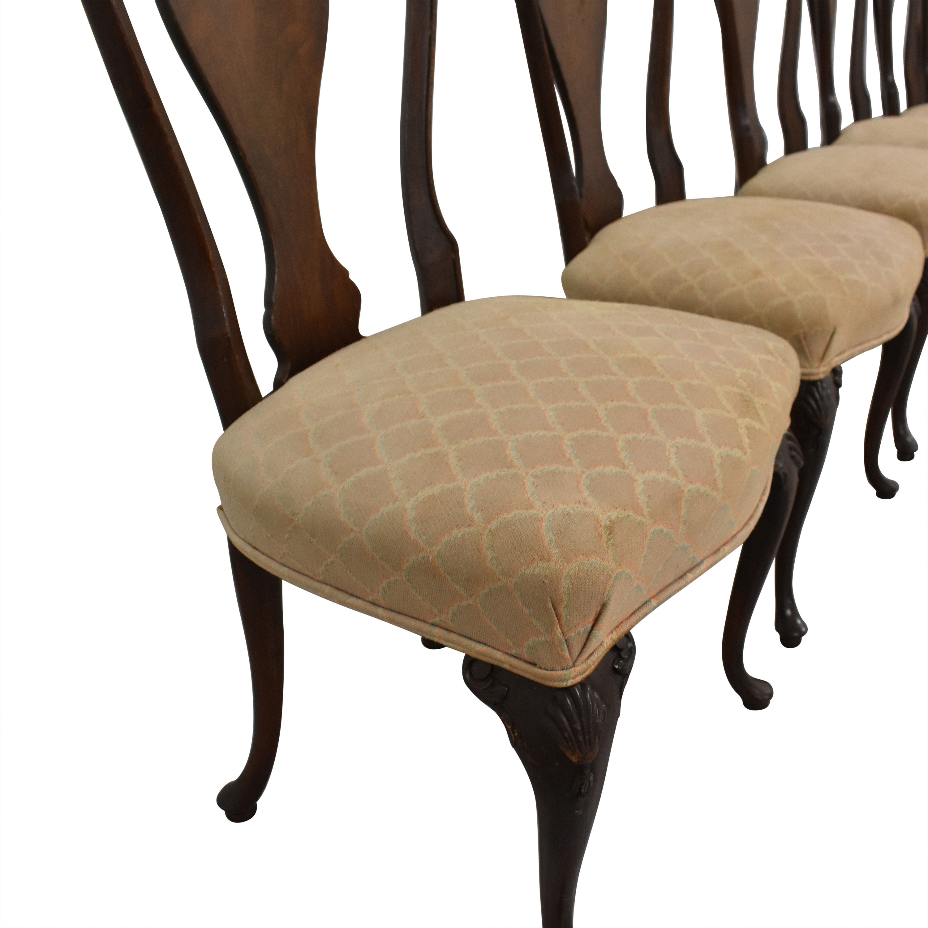Drexel Upholstered Dining Chairs / Dining Chairs