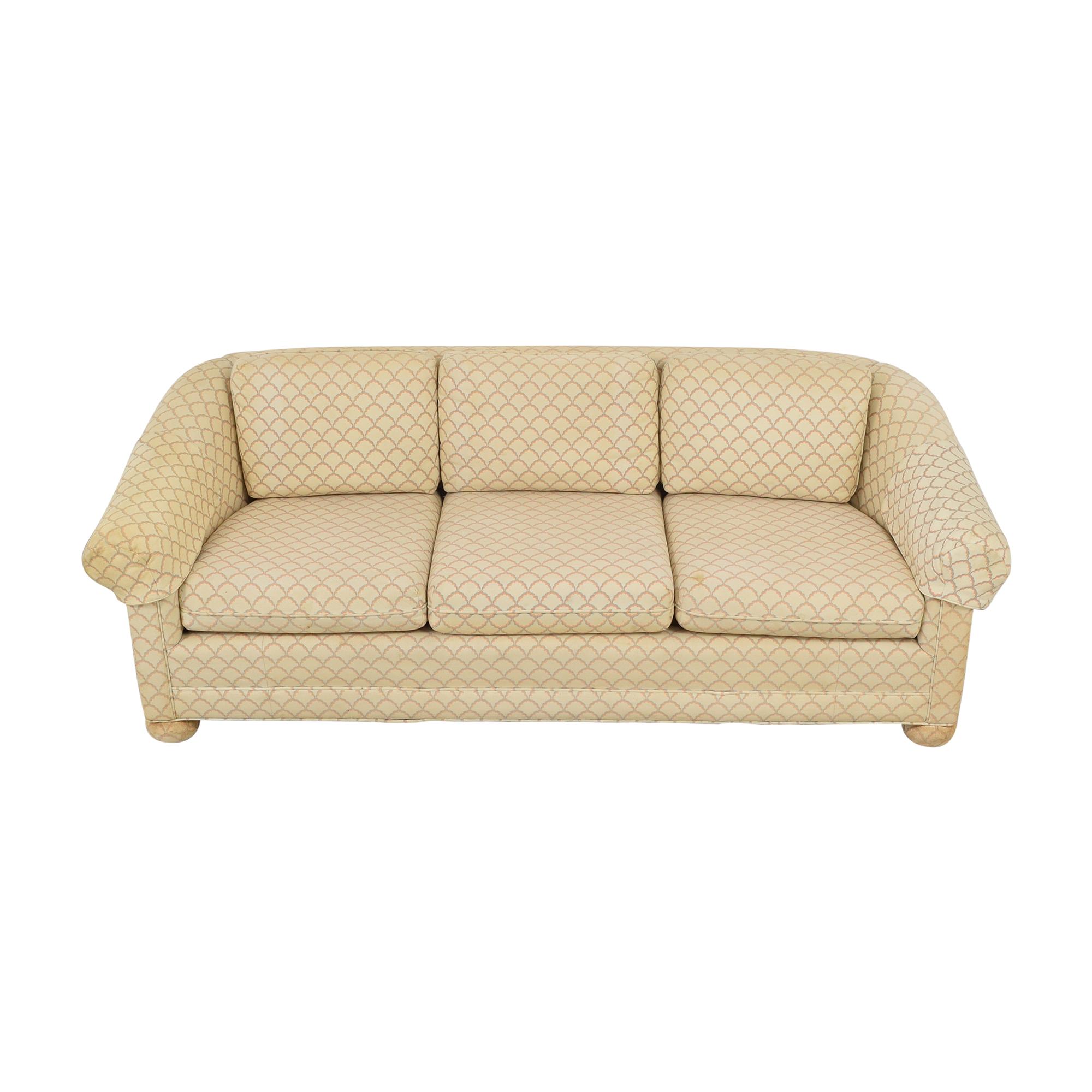 Three Seat Patterned Sofa coupon