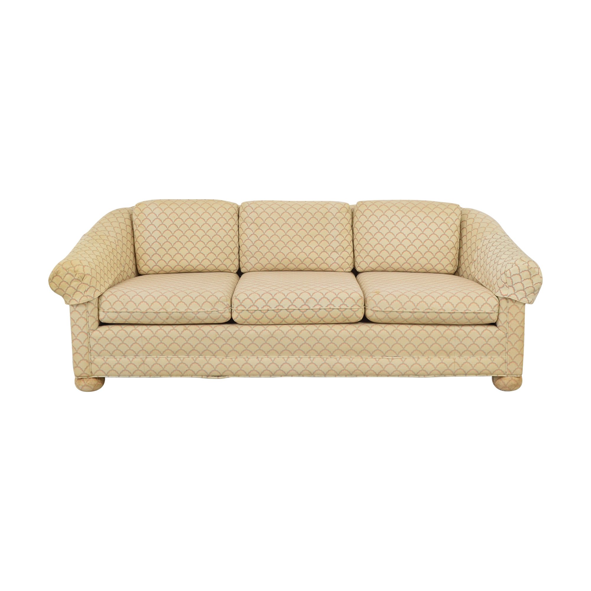 Three Seat Patterned Sofa ct