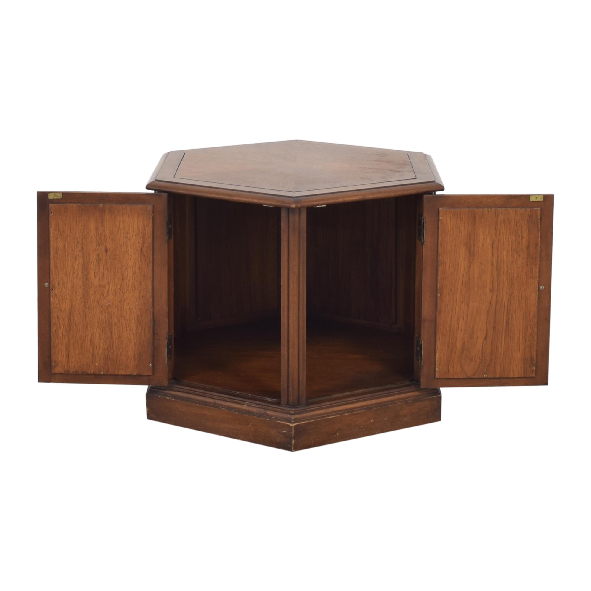 Drexel Drexel Hexagon Side Table on sale