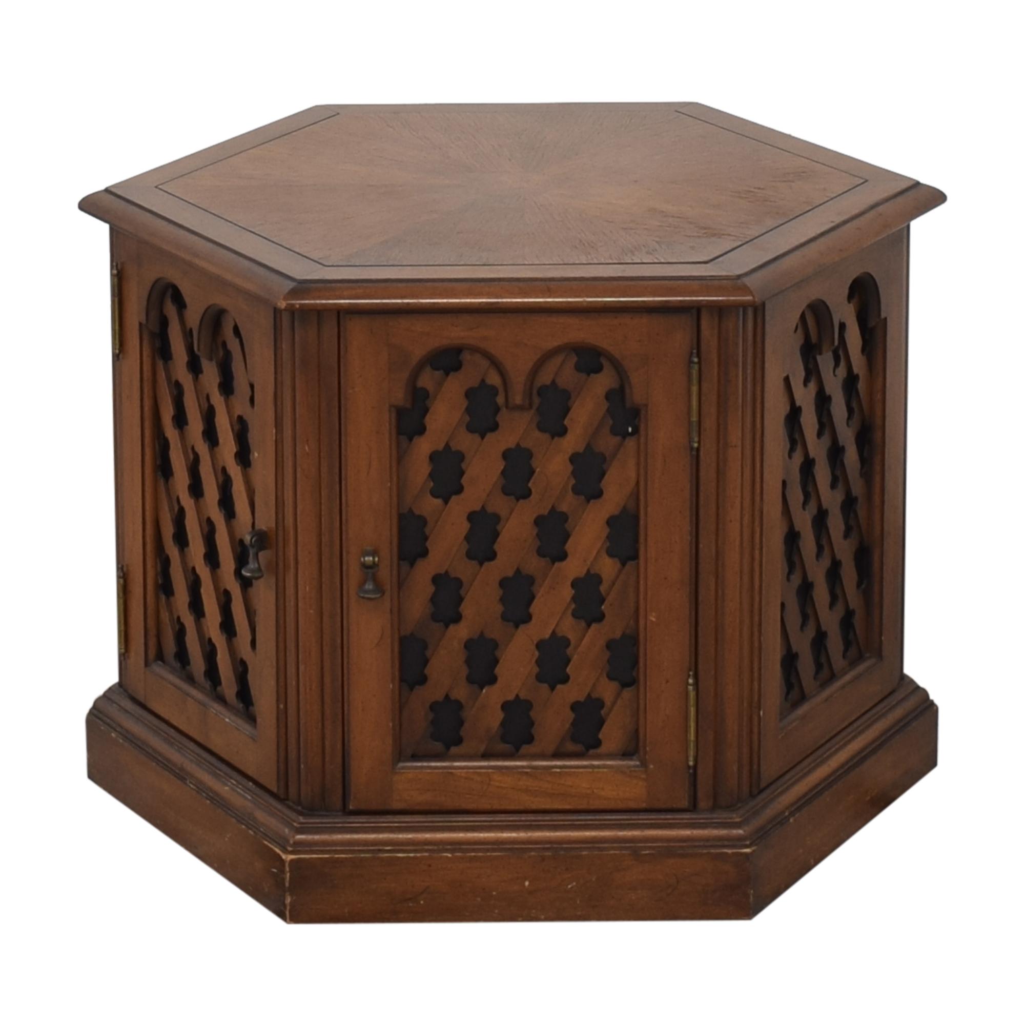 Drexel Drexel Hexagon Side Table Tables
