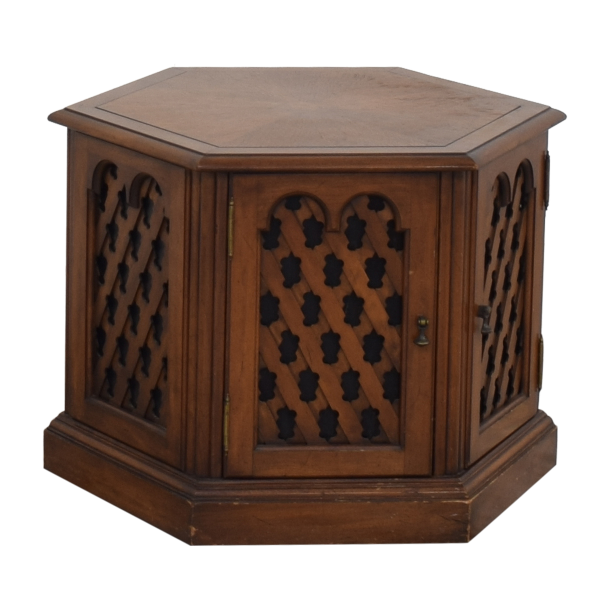 Drexel Drexel Hexagon Side Table End Tables