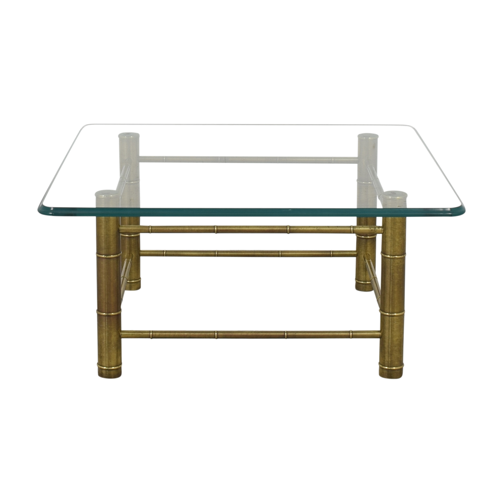 Square Modern Coffee Table second hand