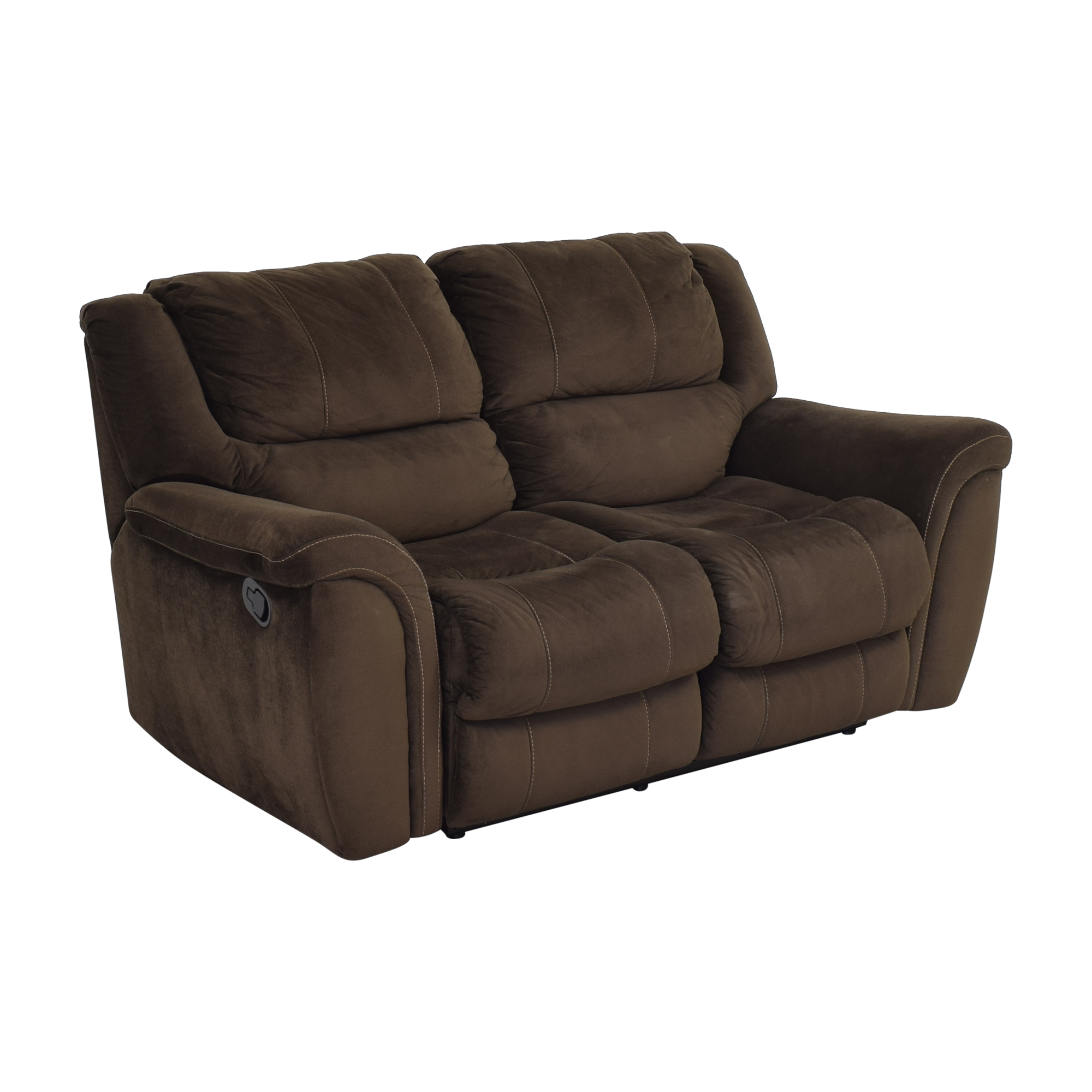 buy Raymour & Flanigan Raymour & Flanigan Double Recliner Loveseat online