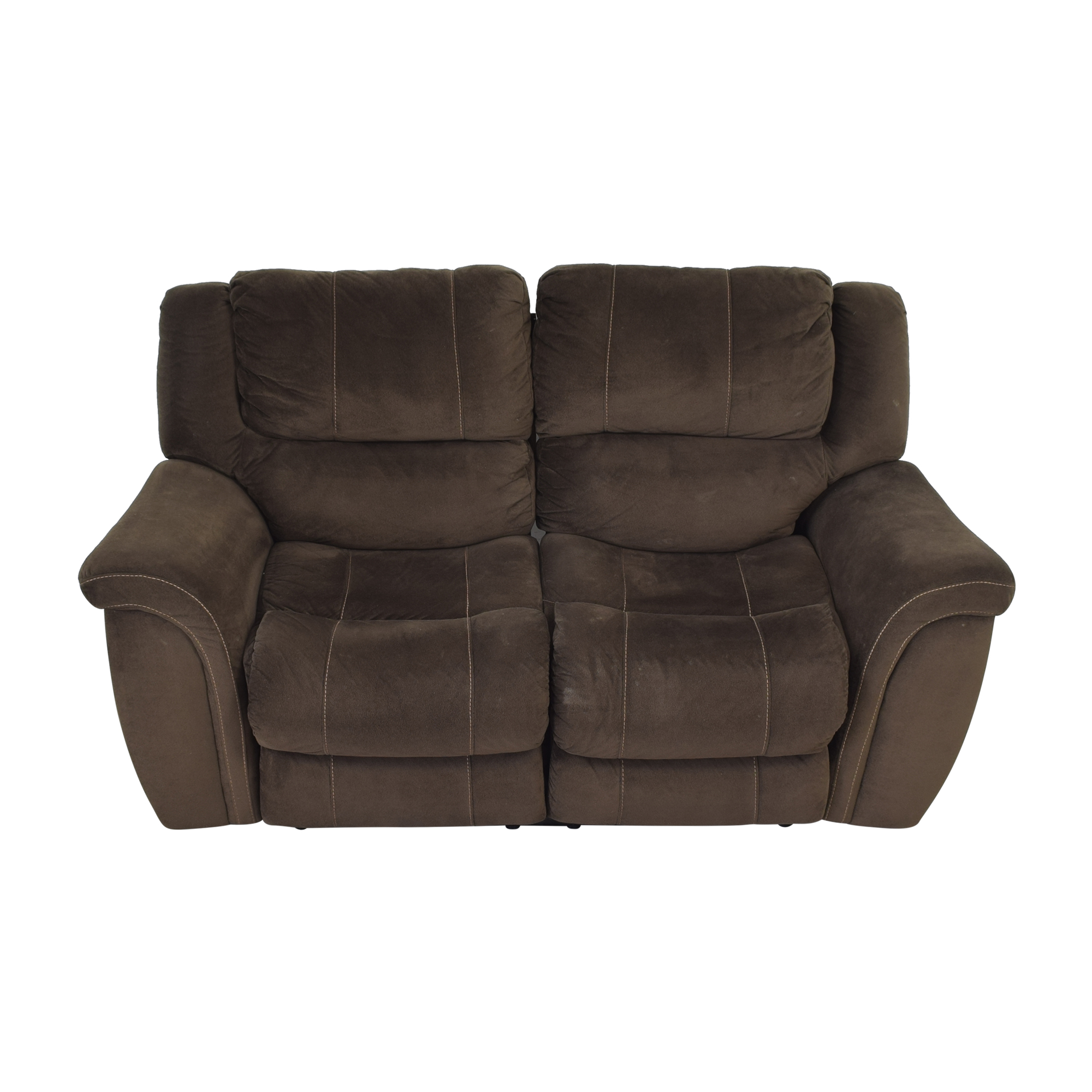 buy Raymour & Flanigan Double Recliner Loveseat Raymour & Flanigan
