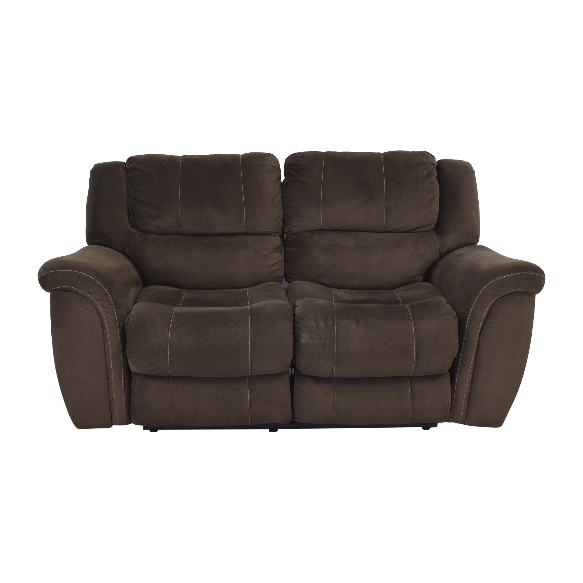 Raymour & Flanigan Raymour & Flanigan Double Recliner Loveseat price