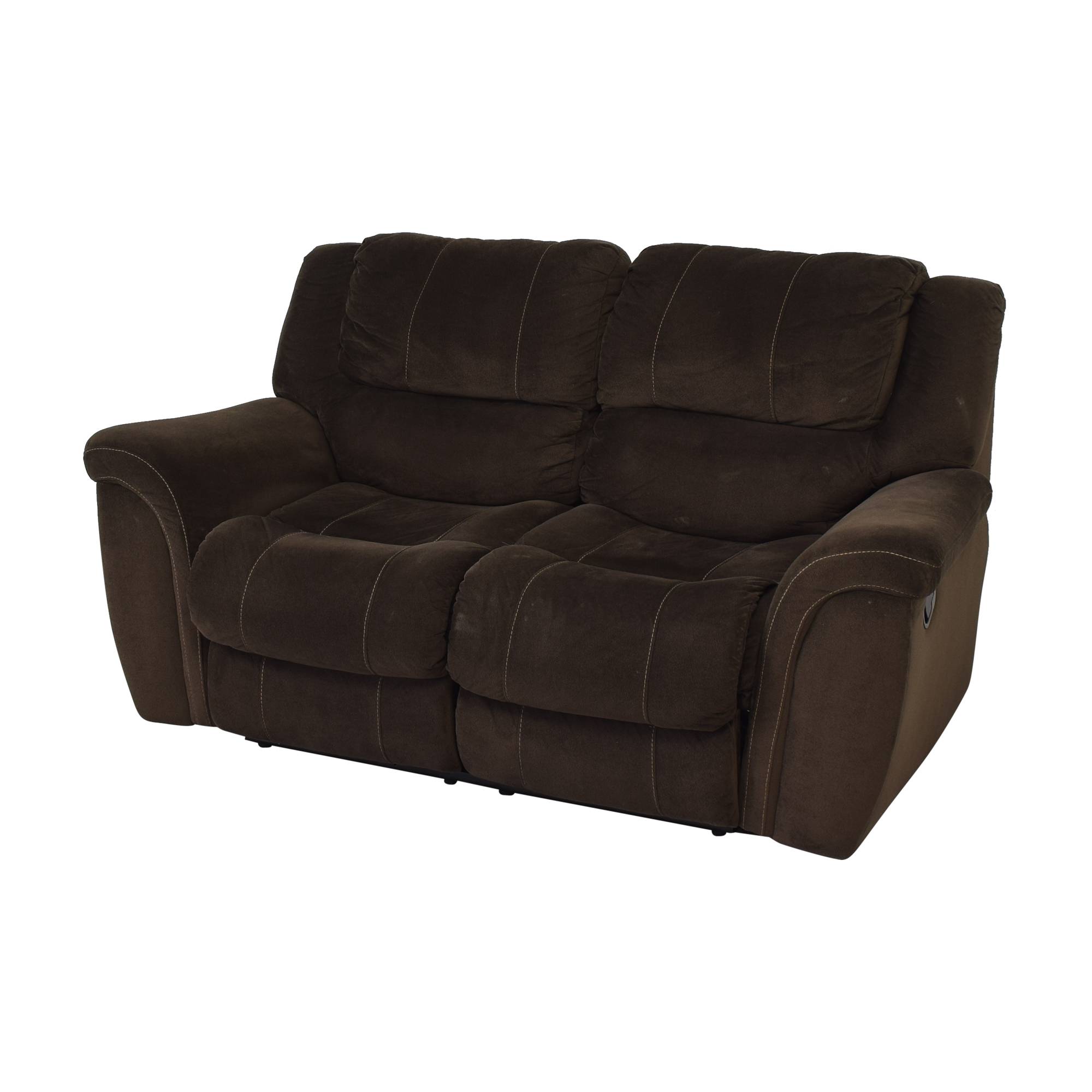 buy Raymour & Flanigan Double Recliner Loveseat Raymour & Flanigan Sofas
