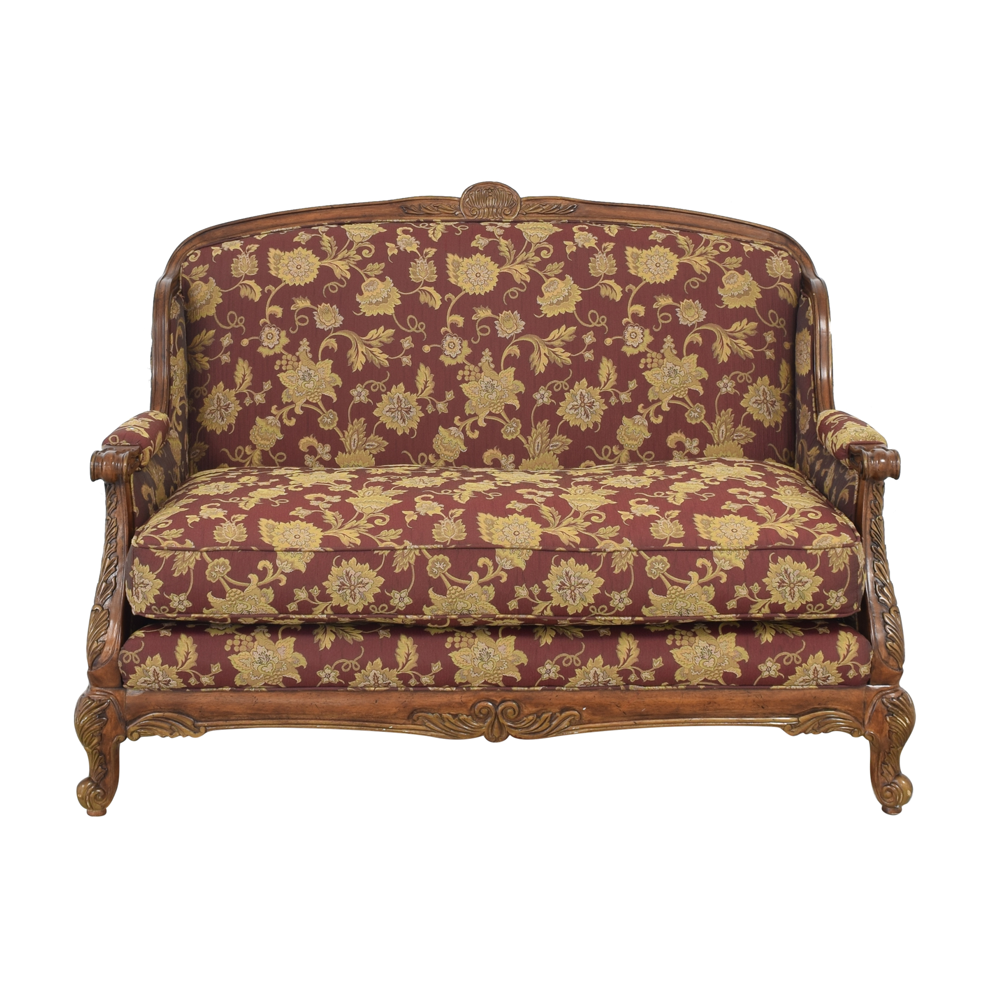 Universal Furniture Universal Furniture Settee red & brown