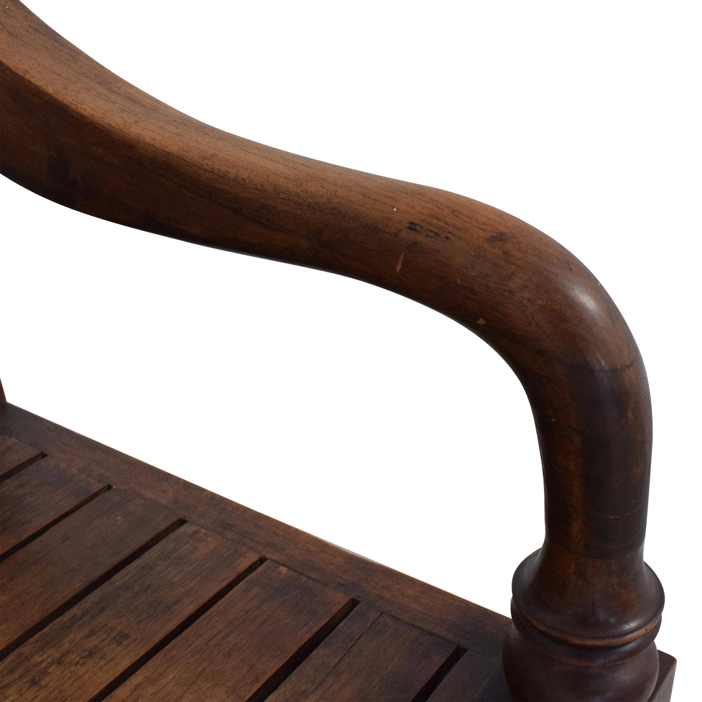 Vintage Wooden Bench for sale