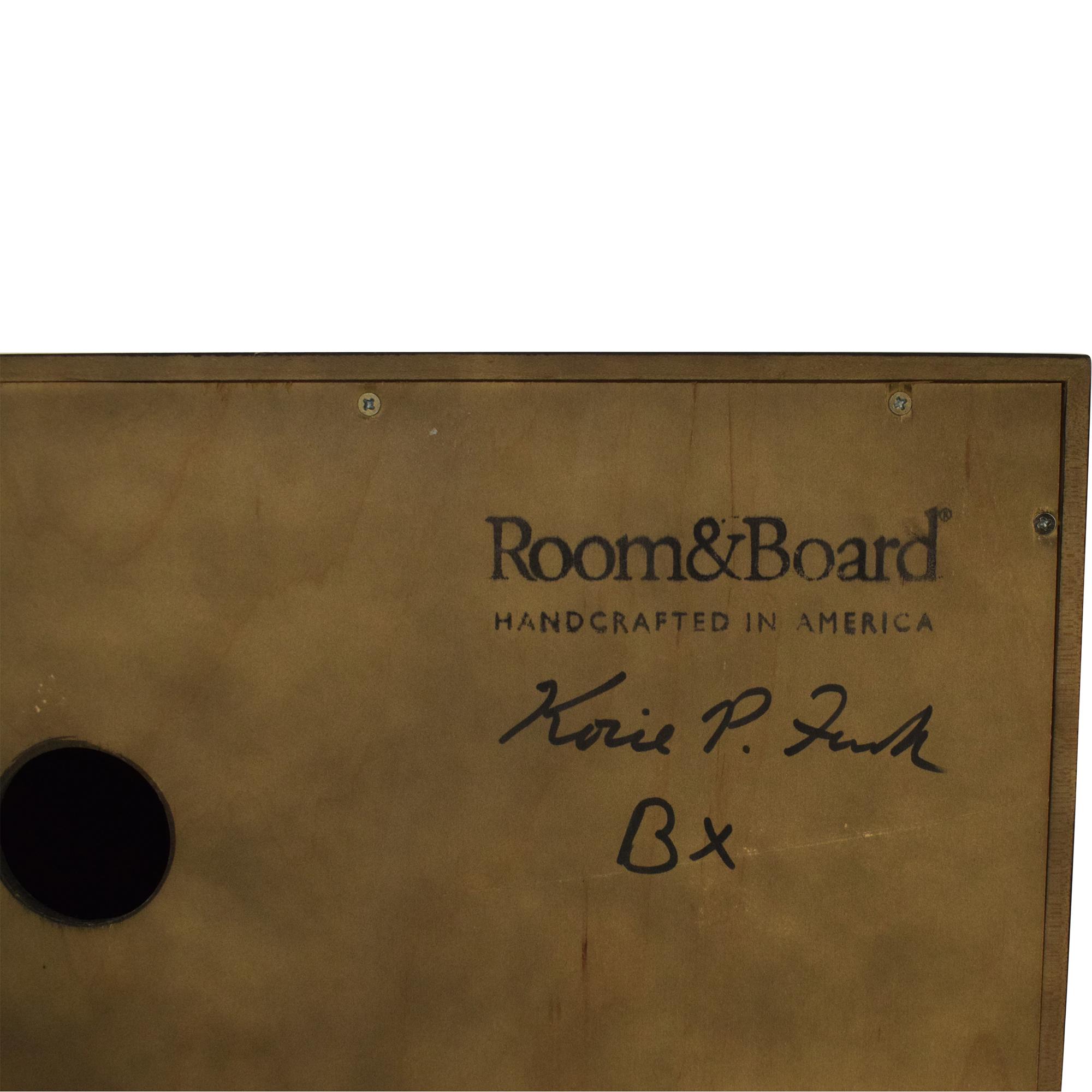 Room & Board Room & Board Hudson Custom Storage Cabinet Storage