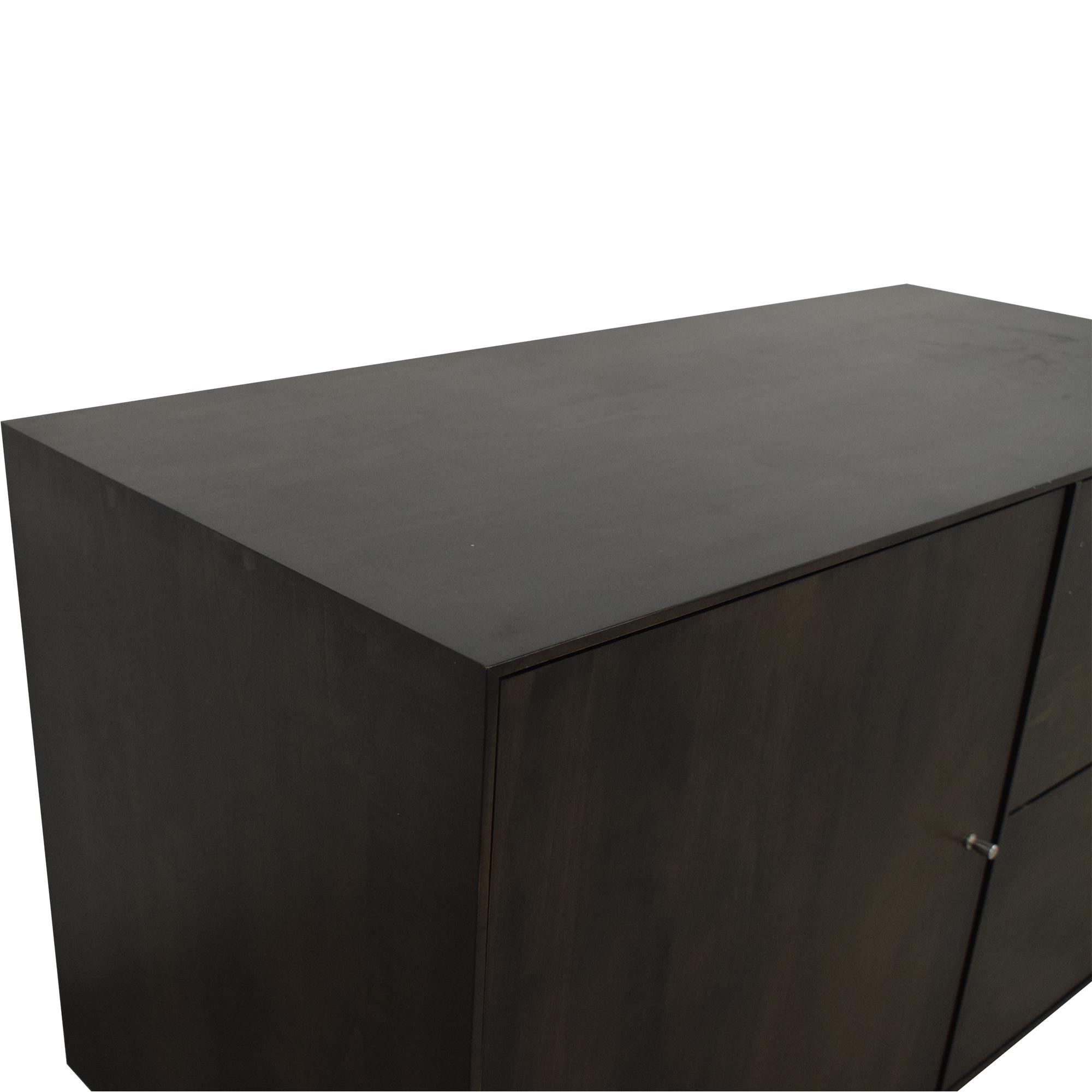 shop Room & Board Hudson Custom Storage Cabinet Room & Board