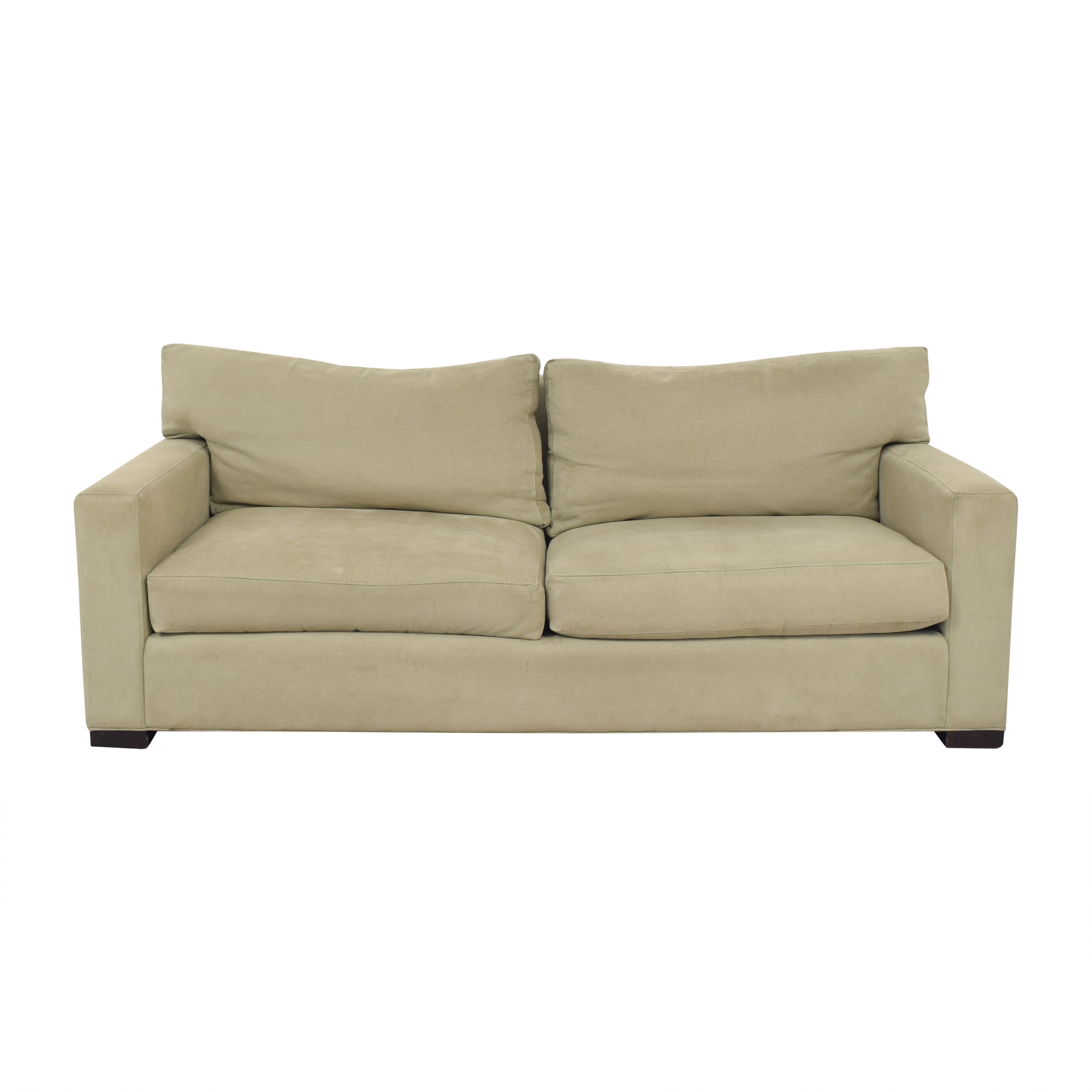 shop Crate & Barrel Axis II 2 Seat Sofa Crate & Barrel Sofas